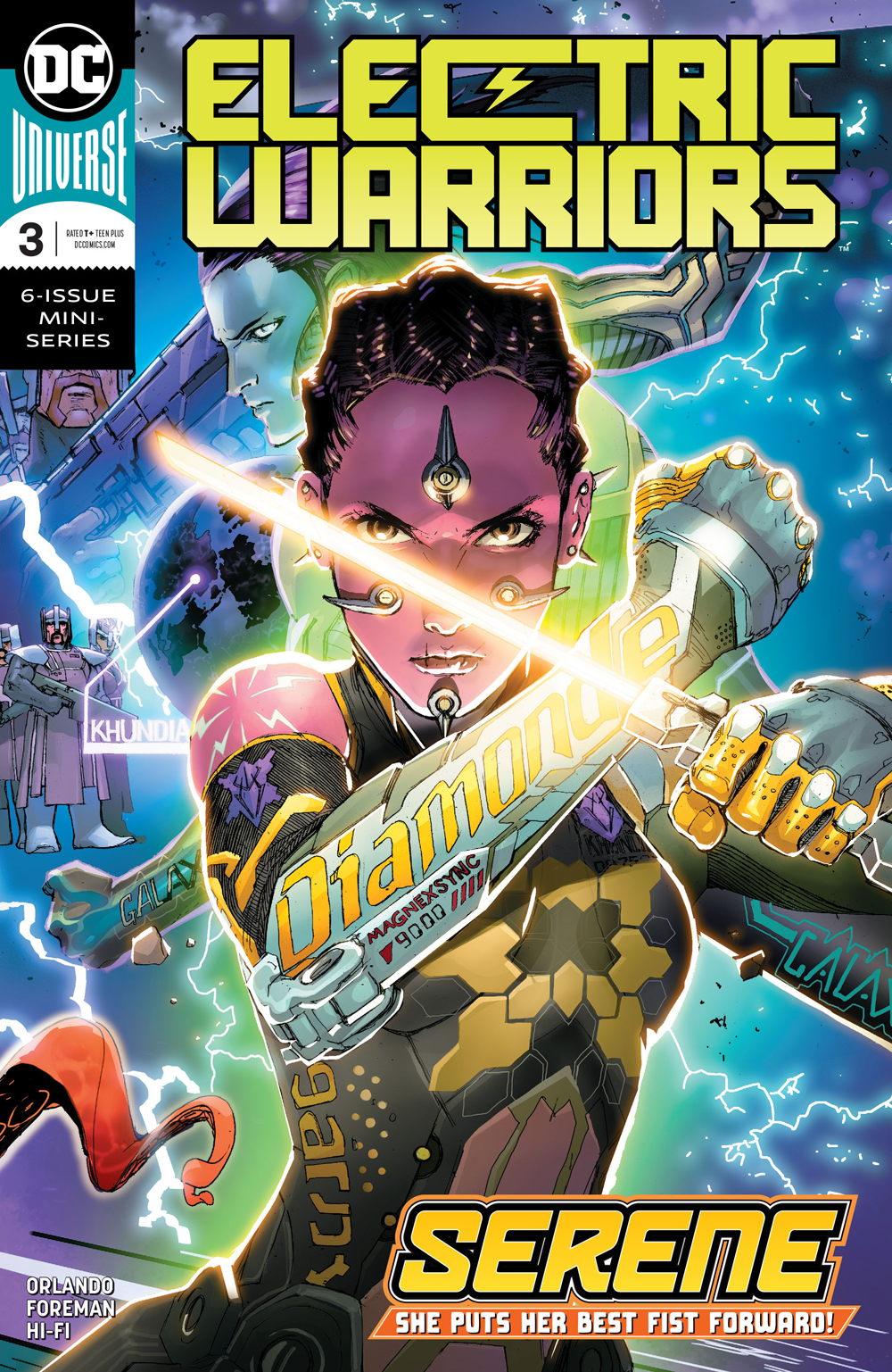 ELECTRIC WARRIORS #3 (OF 6)