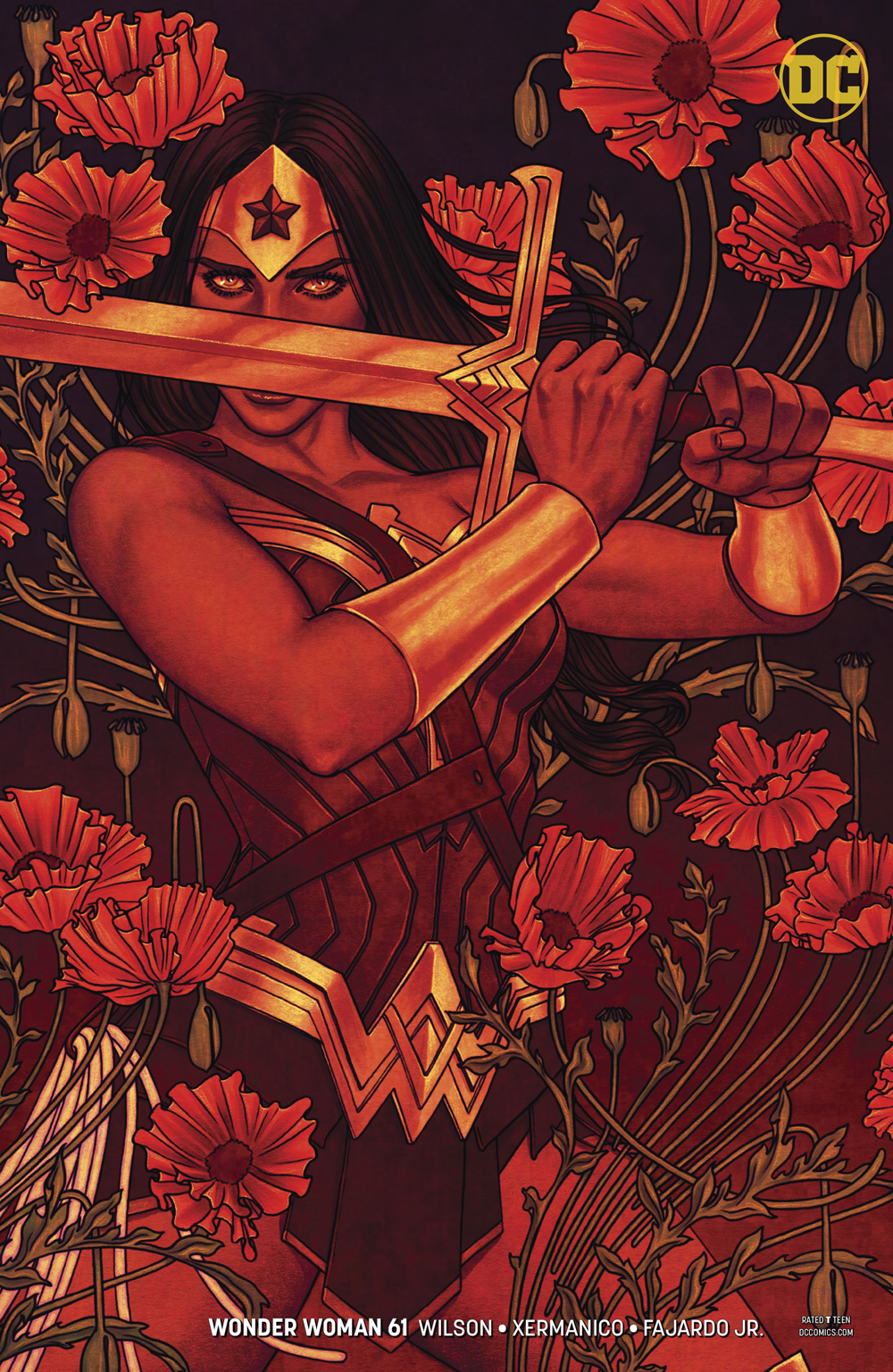 WONDER WOMAN #61 VAR ED