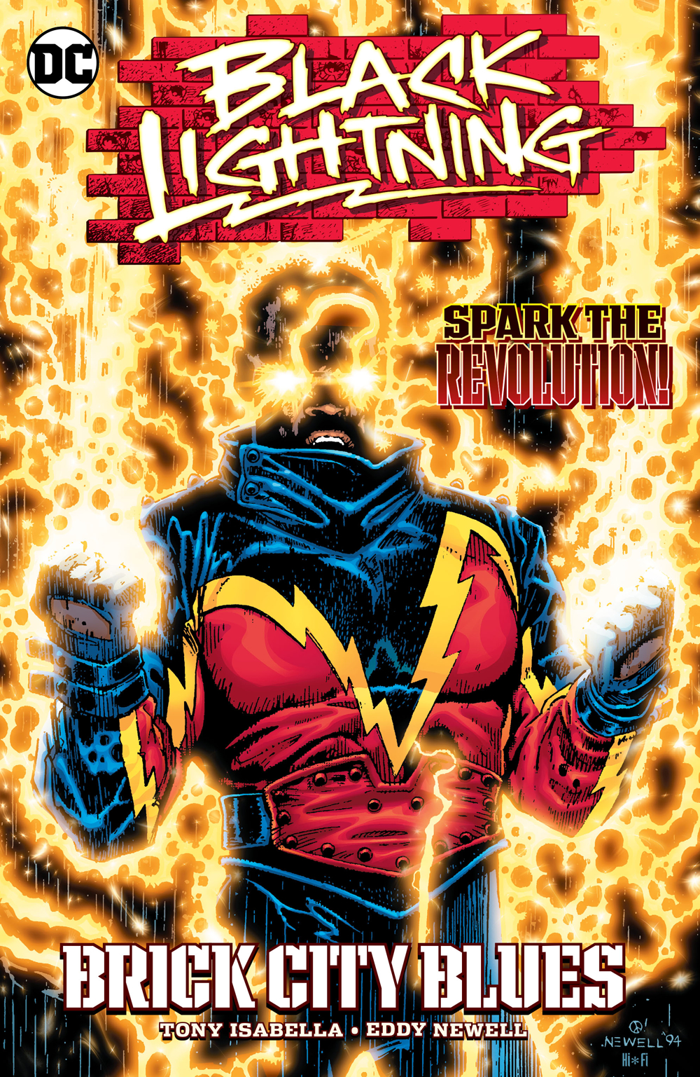 BLACK LIGHTNING BRICK CITY BLUES TP