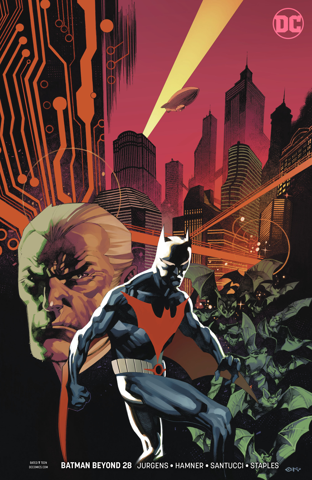 BATMAN BEYOND #28 VAR ED