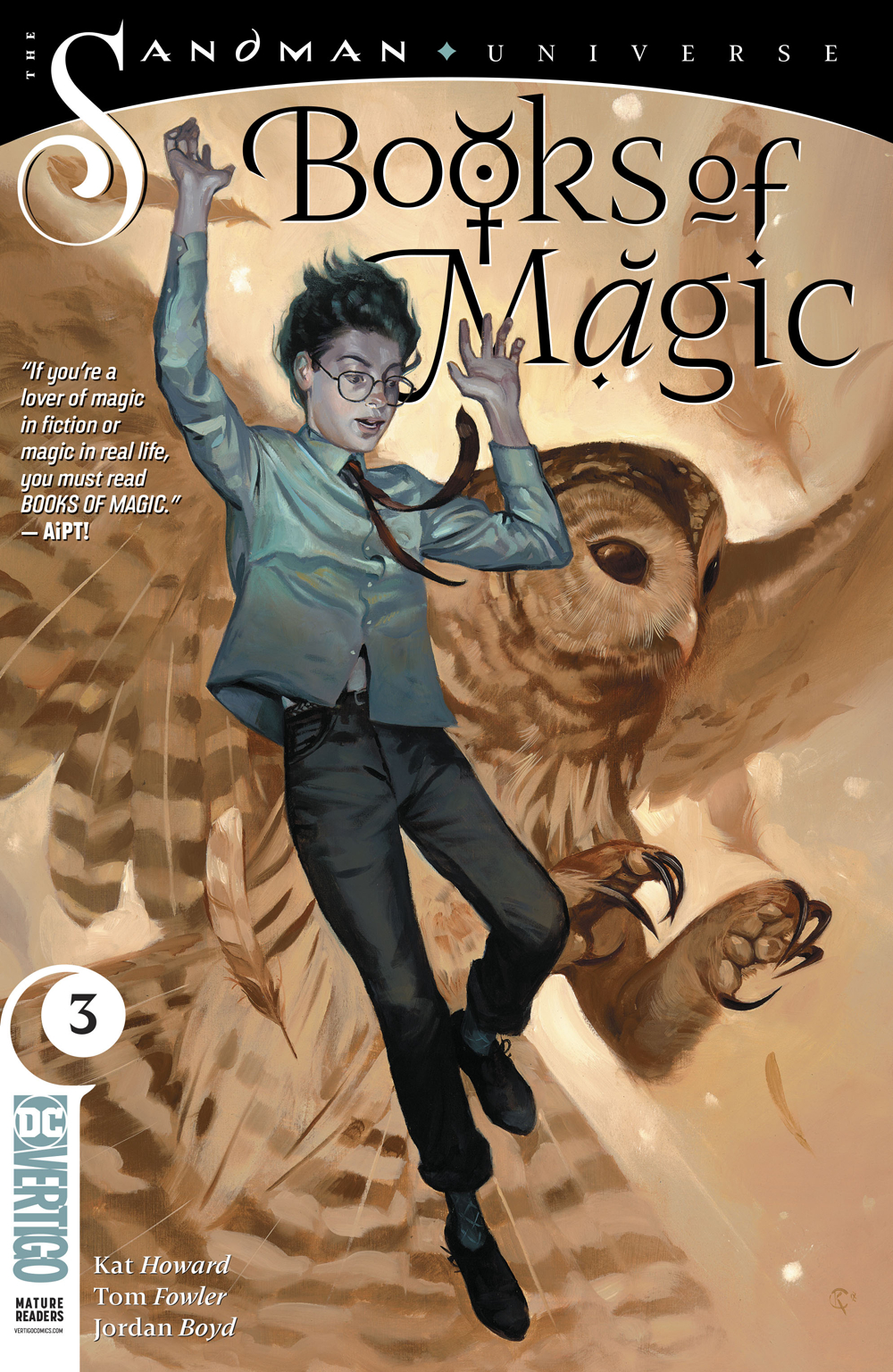 BOOKS OF MAGIC #3 (MR)