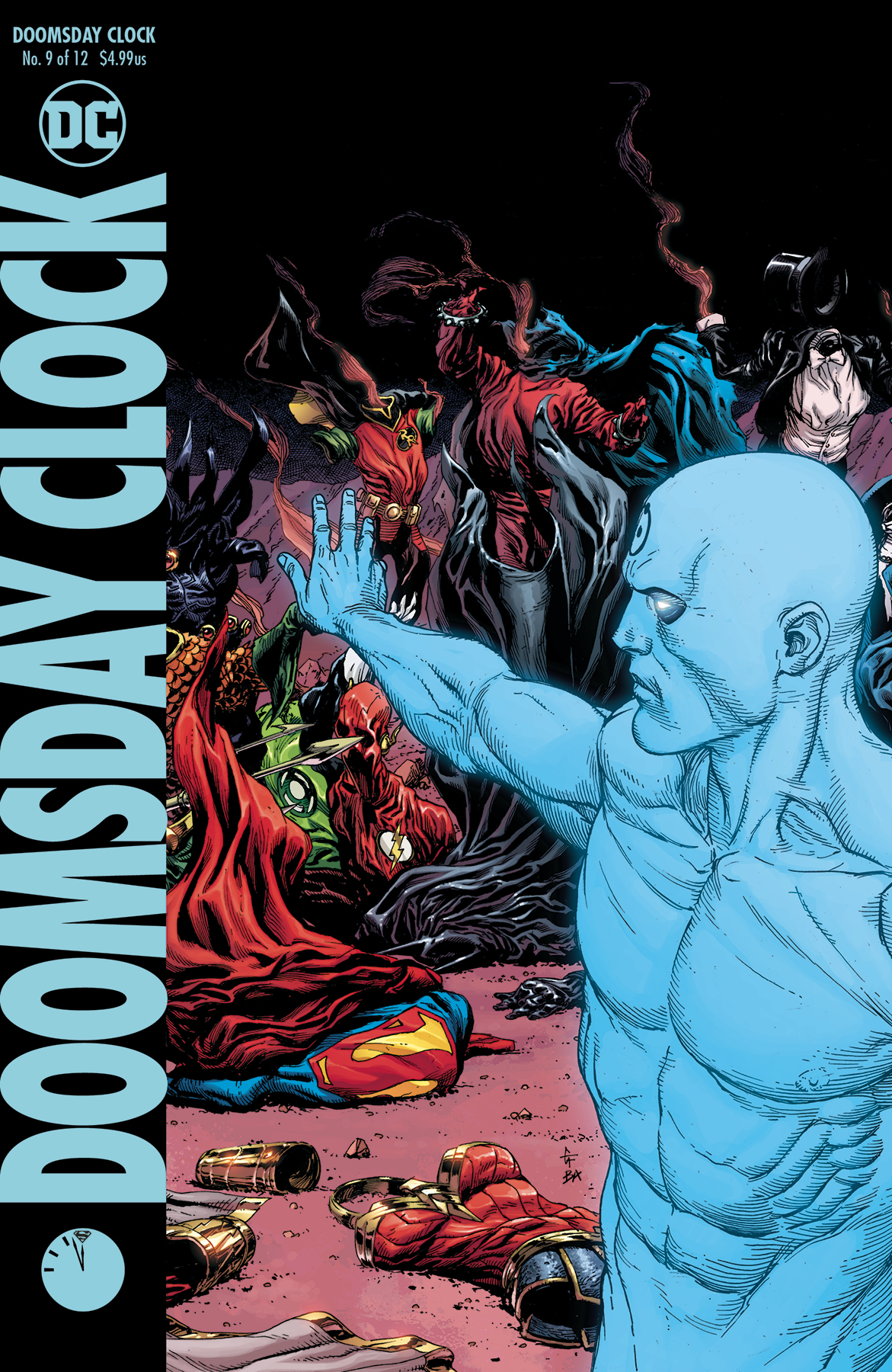 DOOMSDAY CLOCK #9 (OF 12) VAR ED