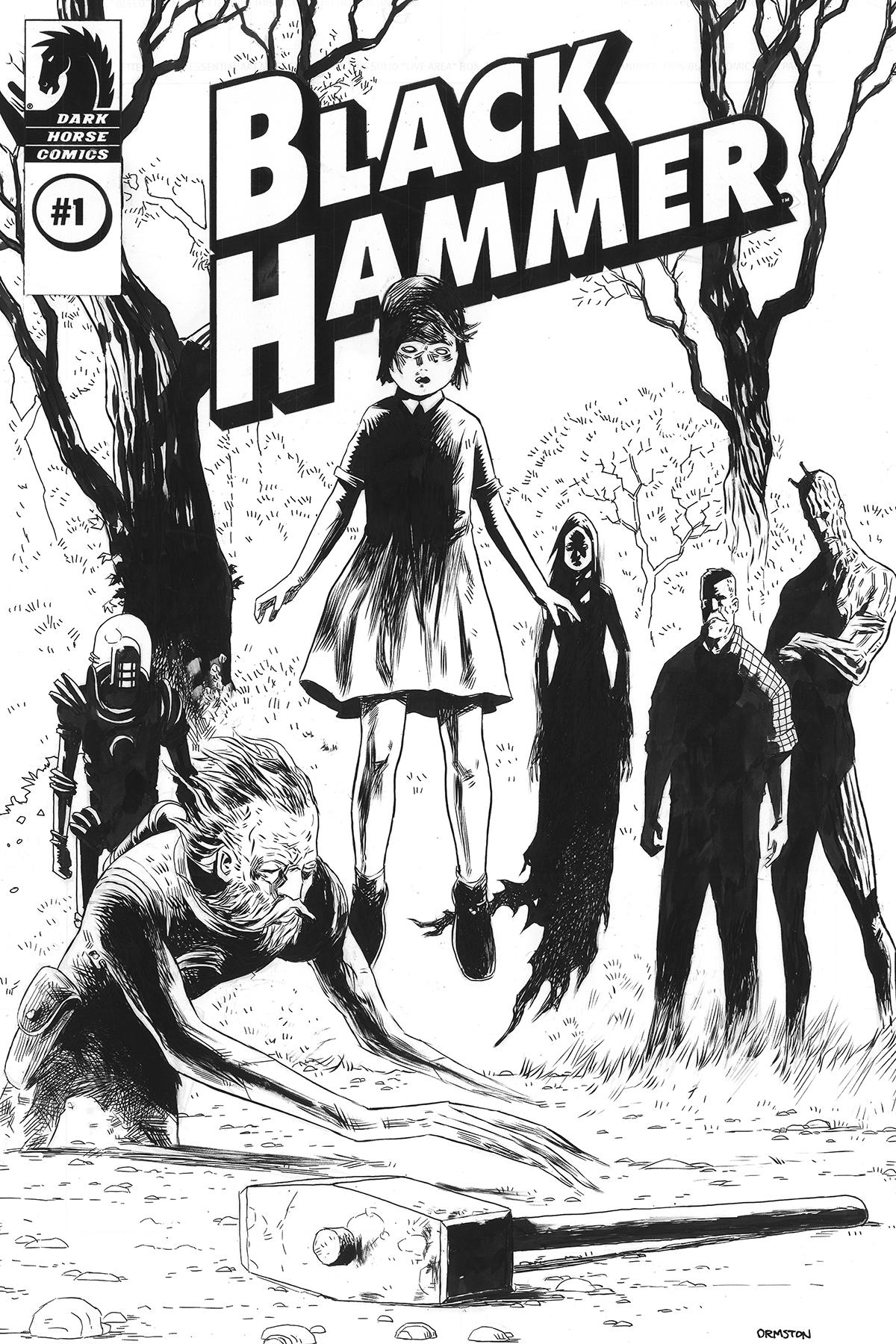 BLACK HAMMER #1 DIRECTORS CUT