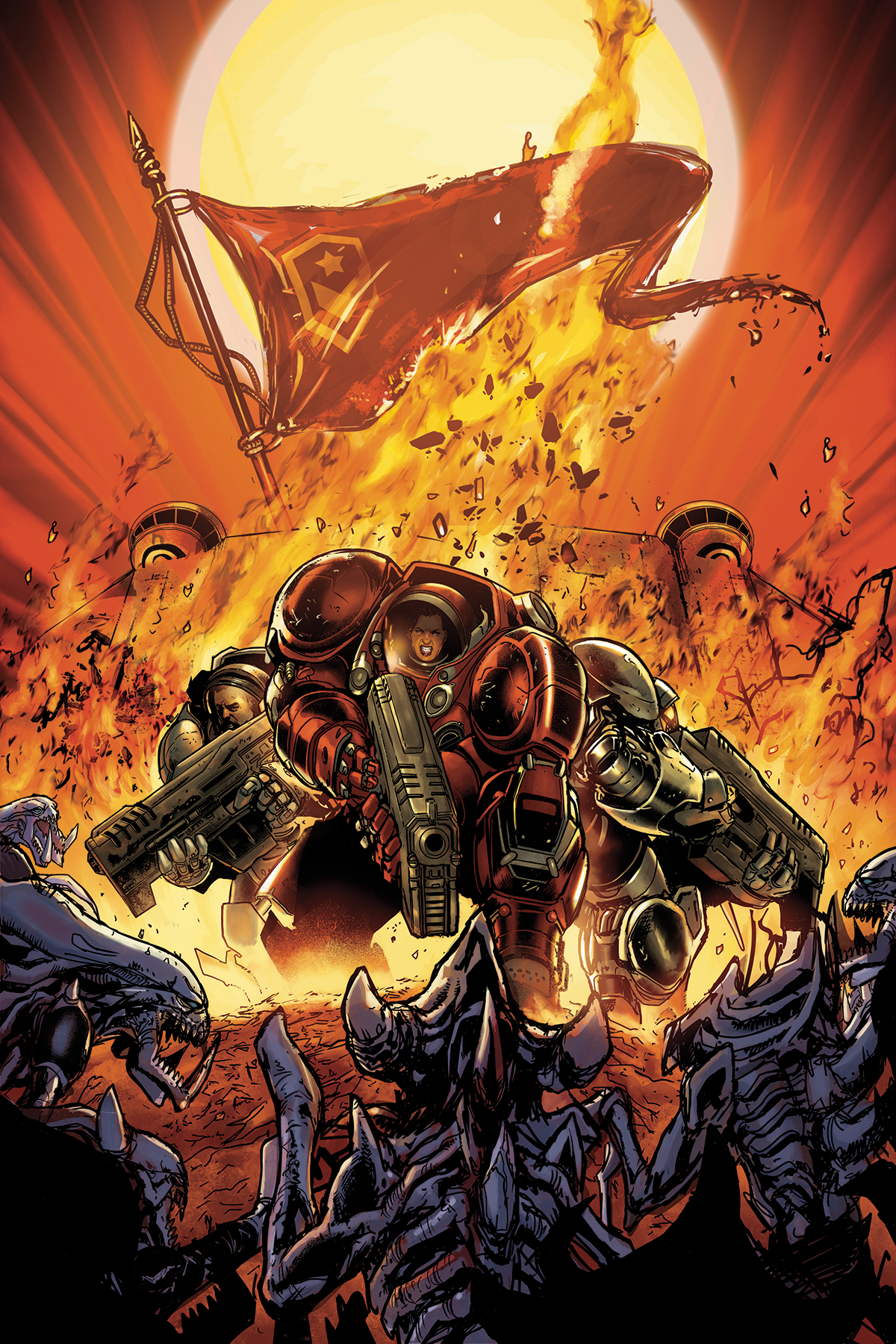 STARCRAFT SOLDIERS #1 (OF 4)