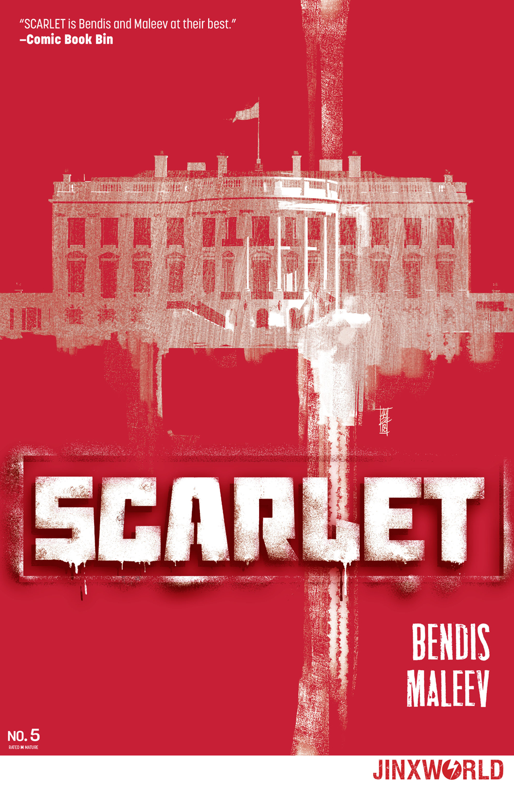 SCARLET #5 (OF 5) (MR)