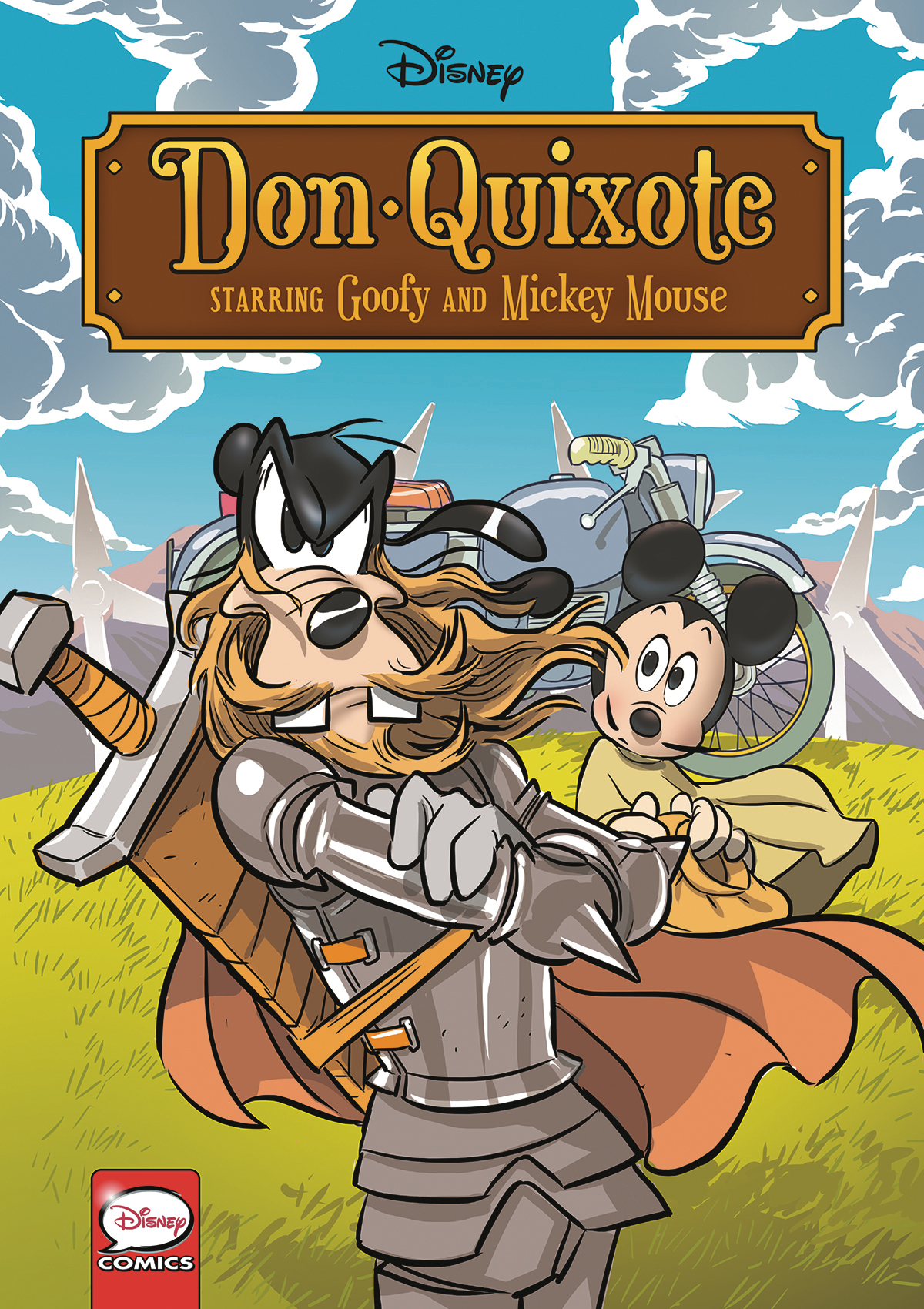 DISNEY DON QUIXOTE STARRING GOOFY & MICKEY TP