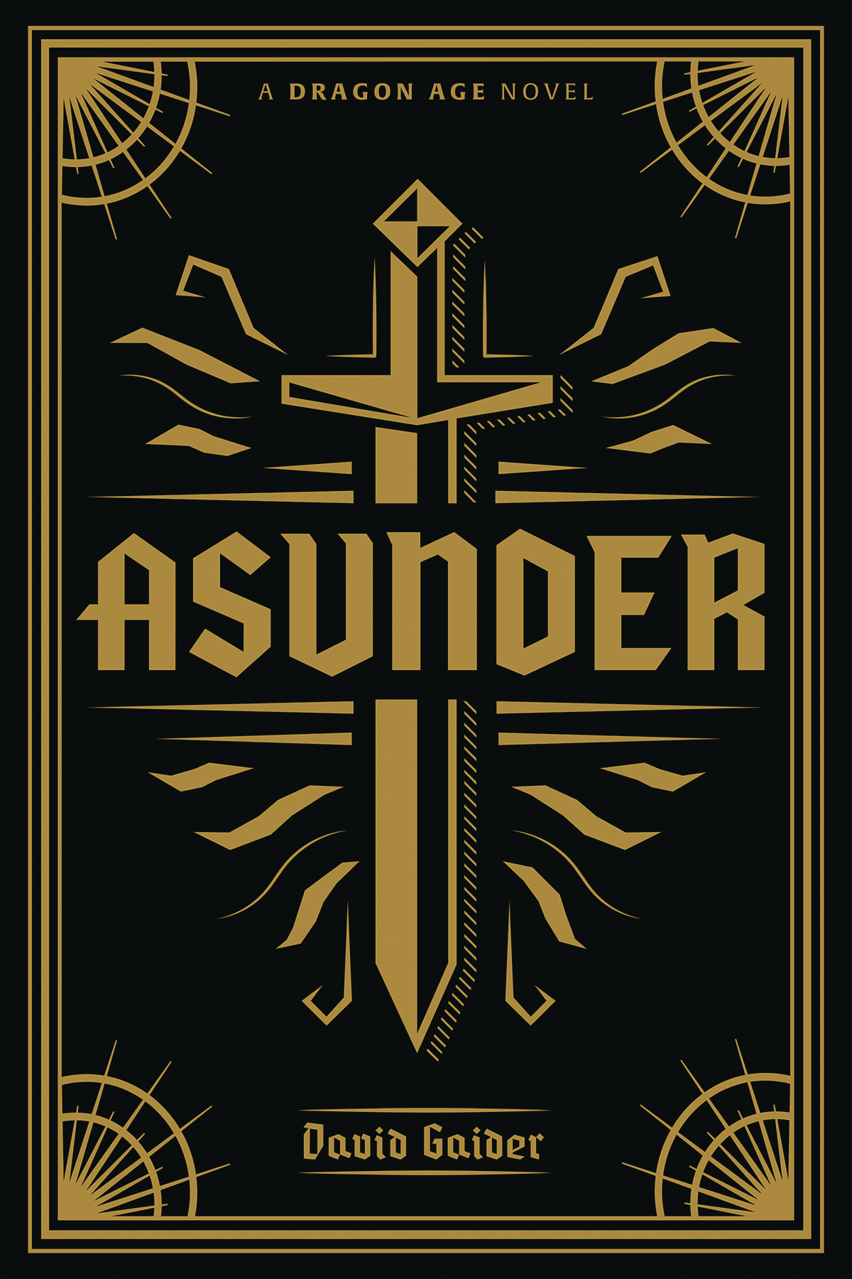 DRAGON AGE ASUNDER DELUXE EDITION HC