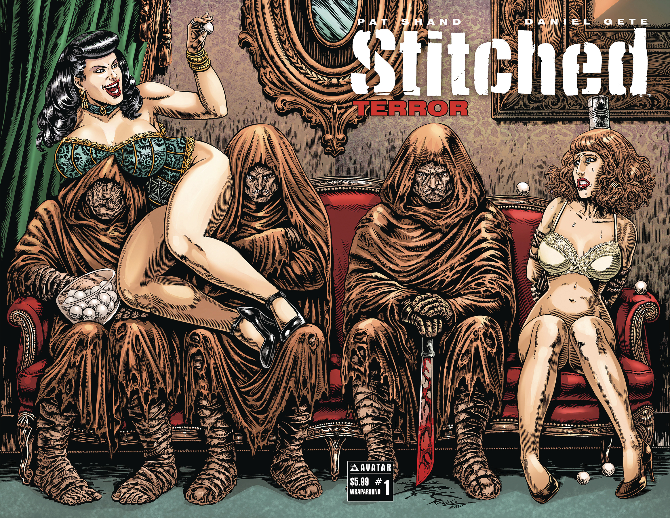 STITCHED TERROR #1 WRAP (RES) (MR)