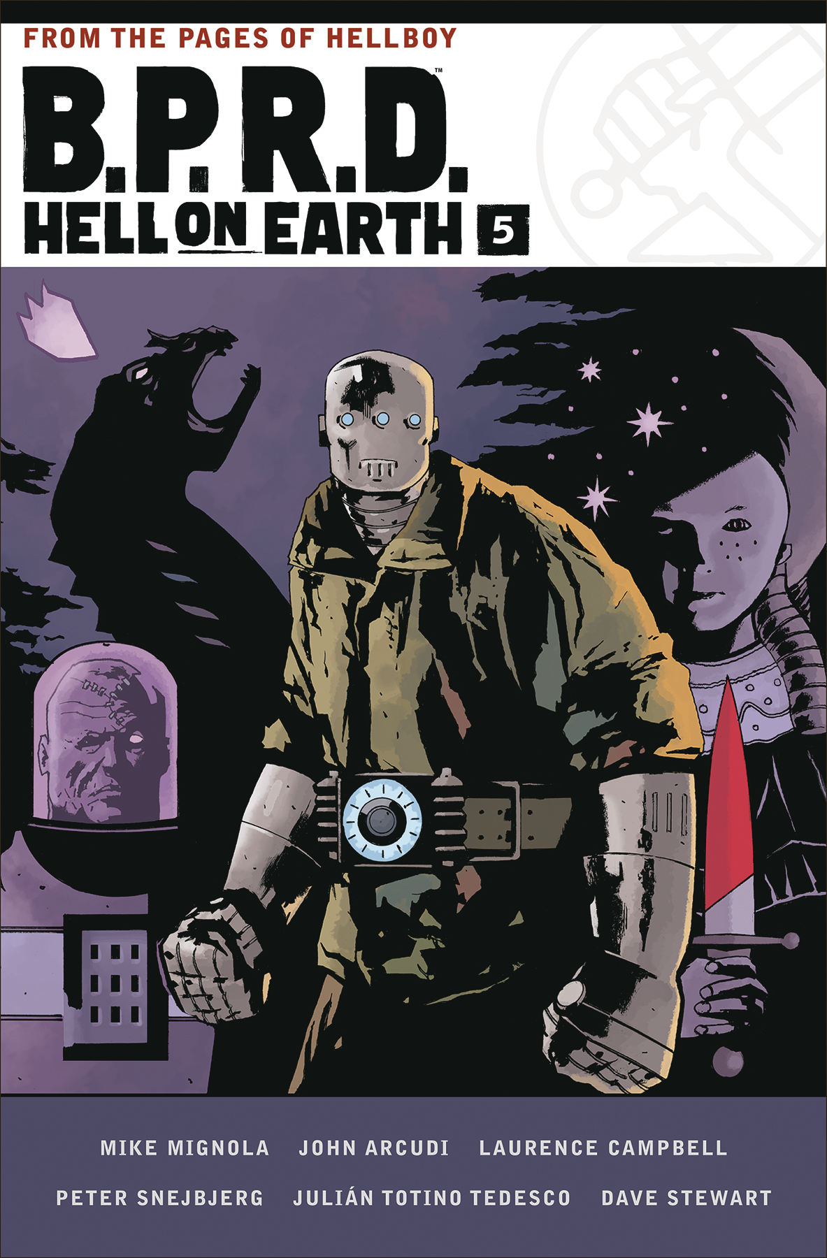 BPRD HELL ON EARTH HC VOL 05