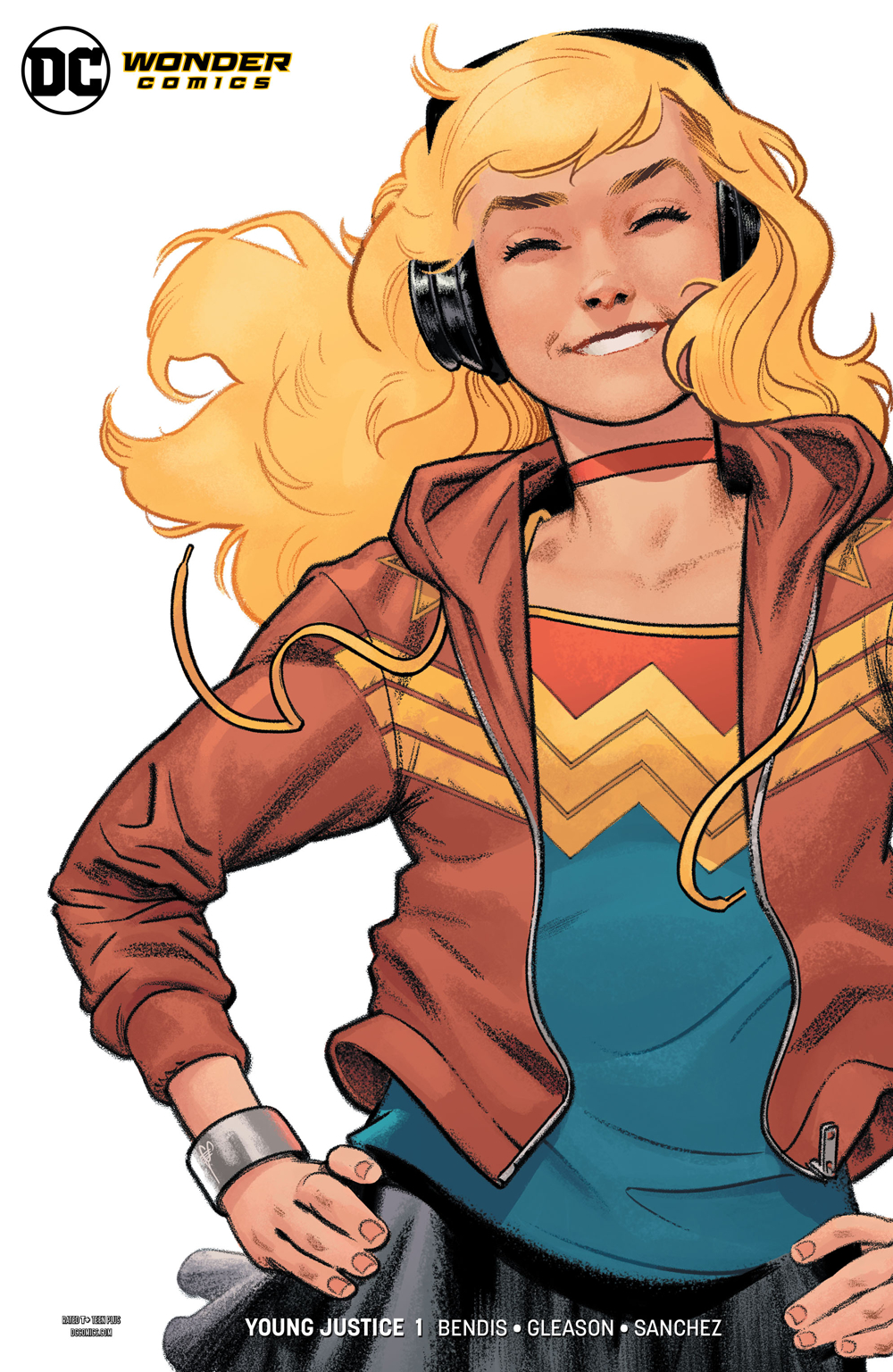 YOUNG JUSTICE #1 WONDER GIRL VAR ED