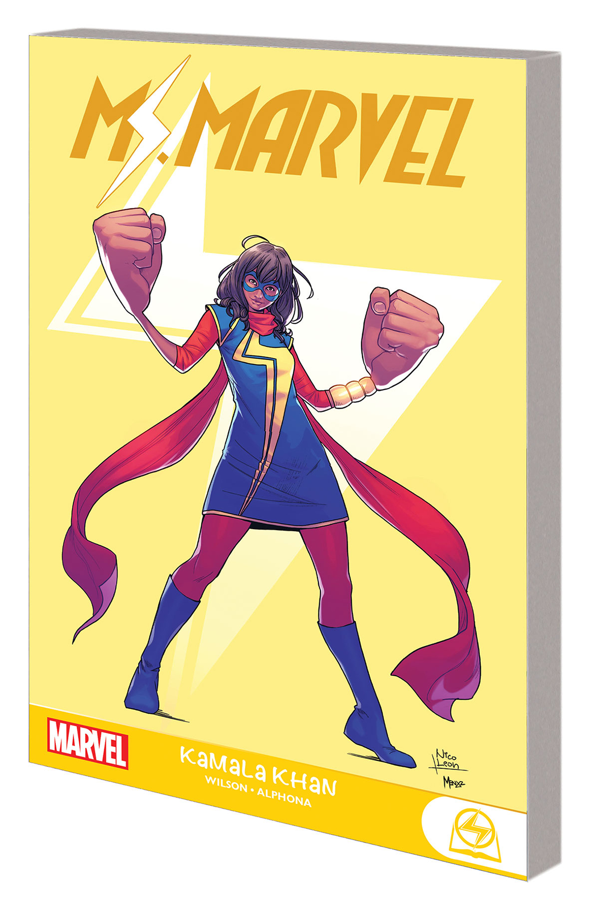 MS MARVEL GN-TP KAMALA KHAN