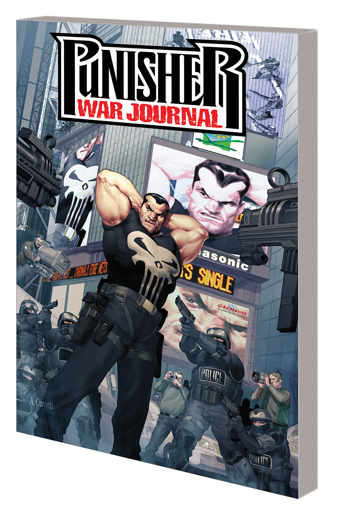 PUNISHER WAR JOURNAL FRACTION TP VOL 01 COMPLETE COLLECTION