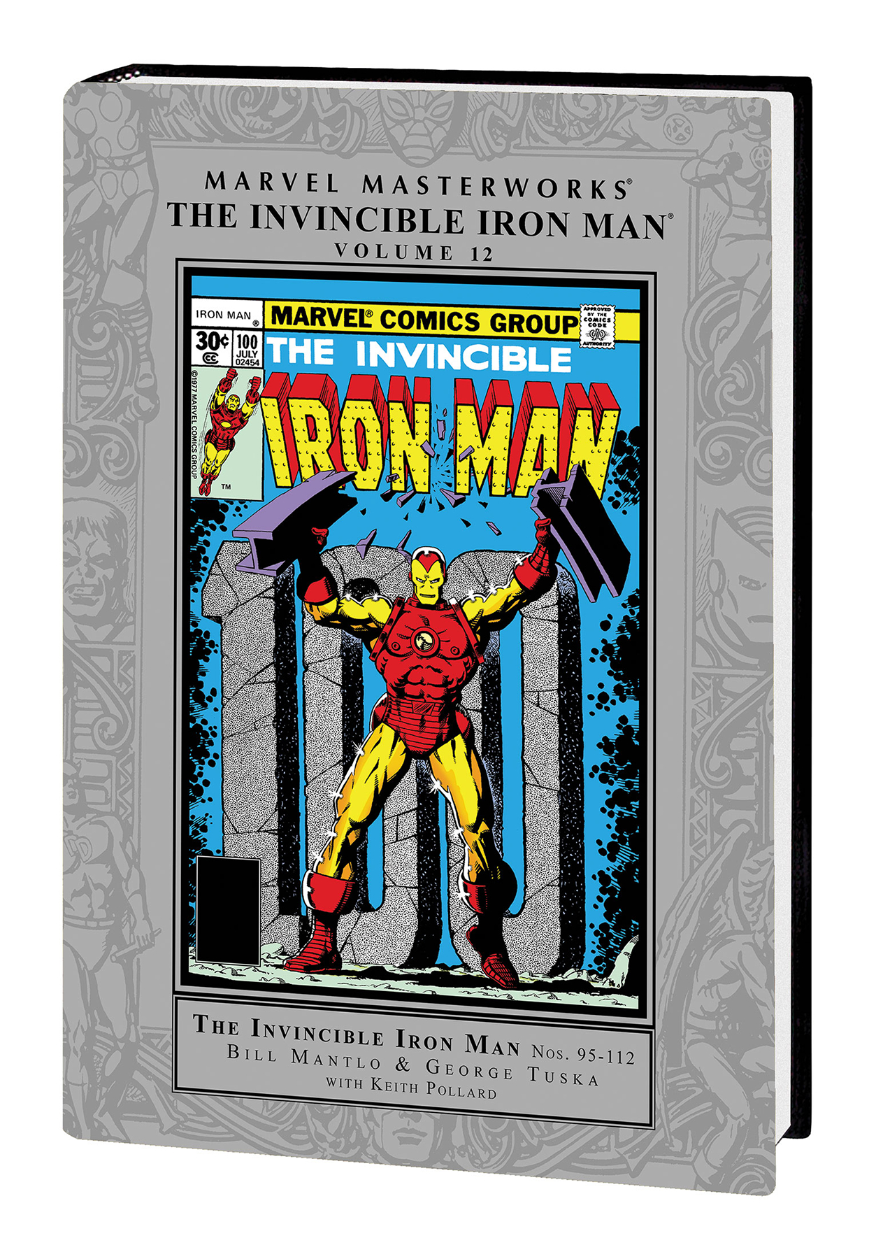 MMW INVINCIBLE IRON MAN HC VOL 12