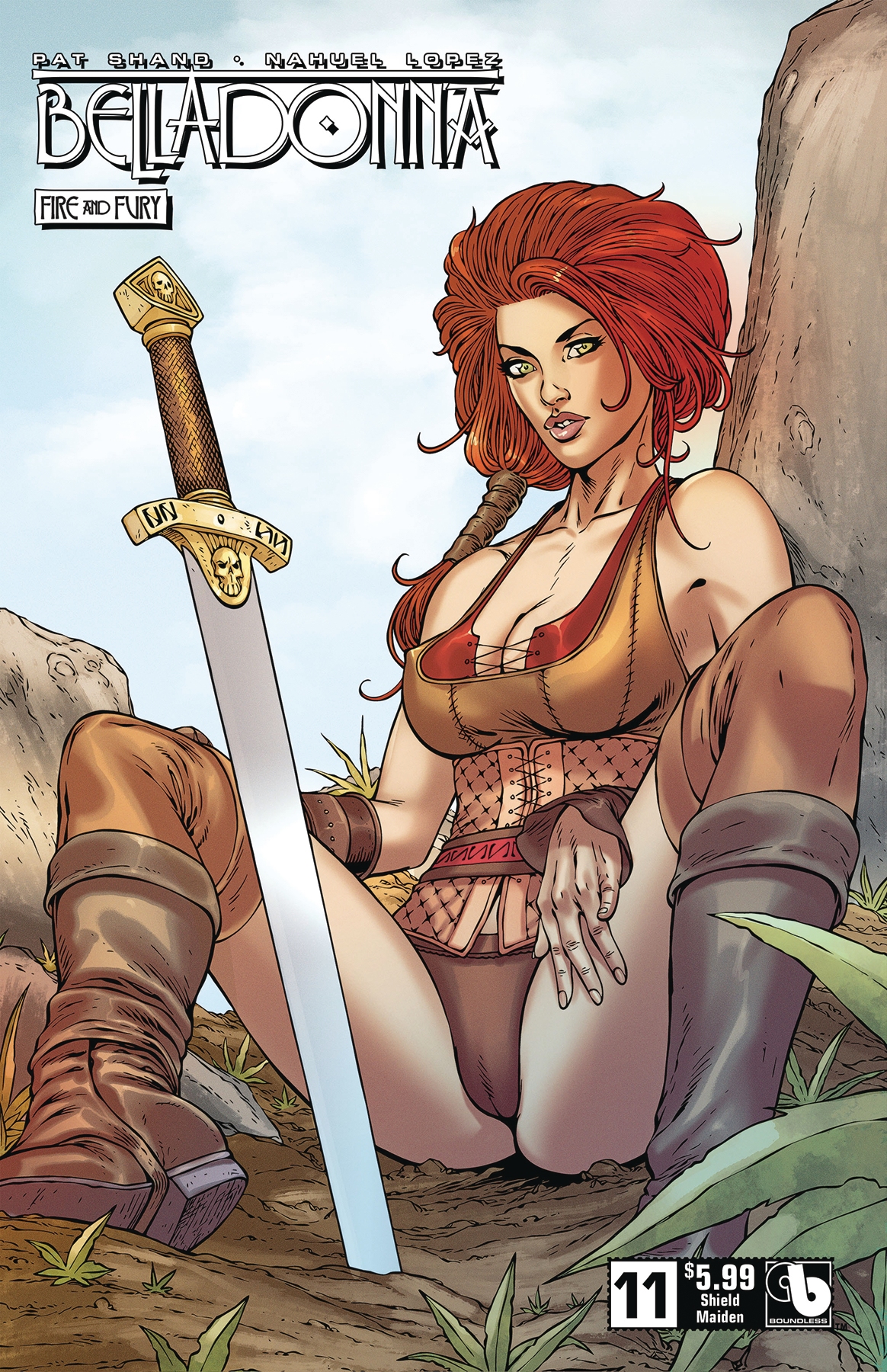 BELLADONNA FIRE FURY #11 SHIELD MAIDEN (MR)