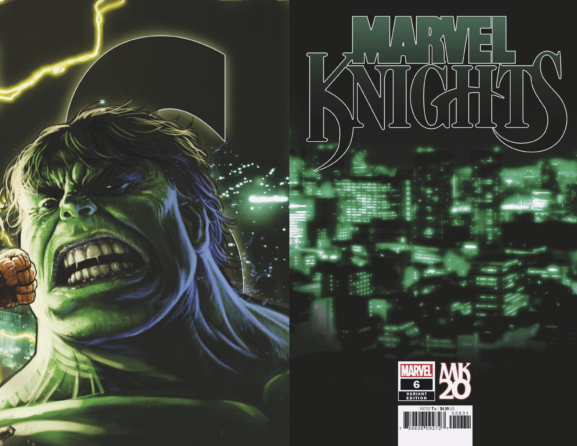 MARVEL KNIGHTS 20TH #6 (OF 6) ANDREWS CONNECTING VAR