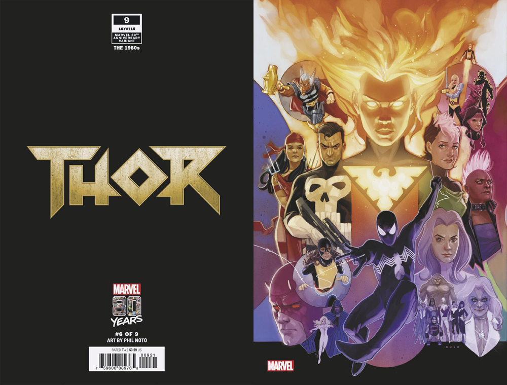 THOR #9 NOTO MARVEL 80TH VAR