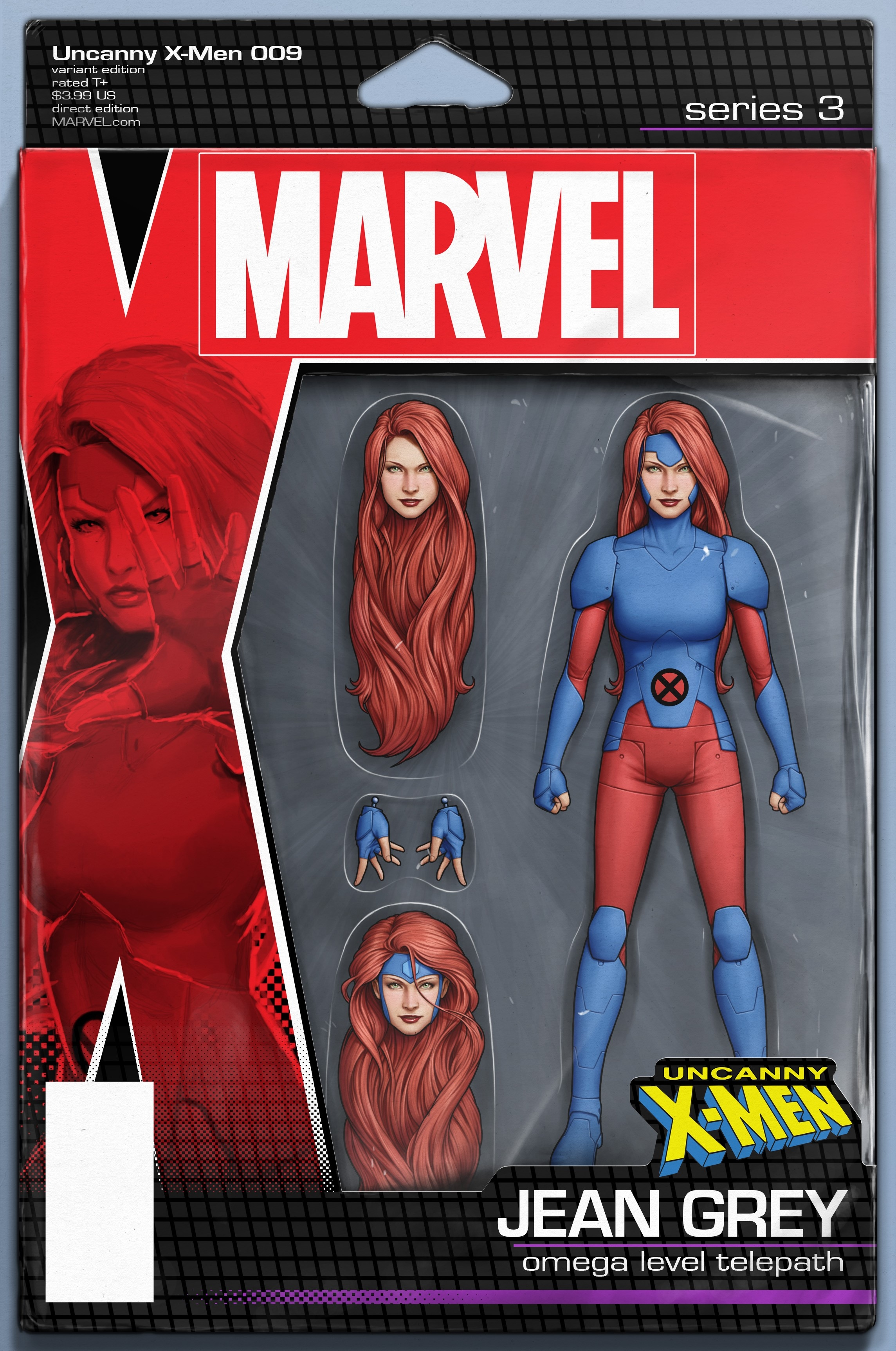 UNCANNY X-MEN #9 CHRISTOPHER ACTION FIGURE VAR