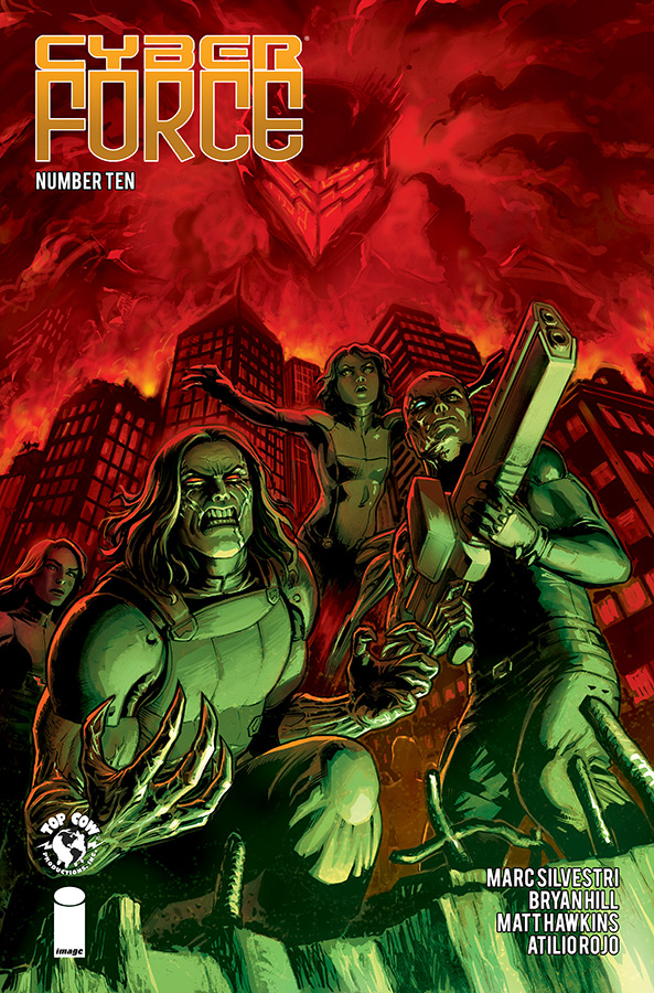 CYBER FORCE #10 (MR)