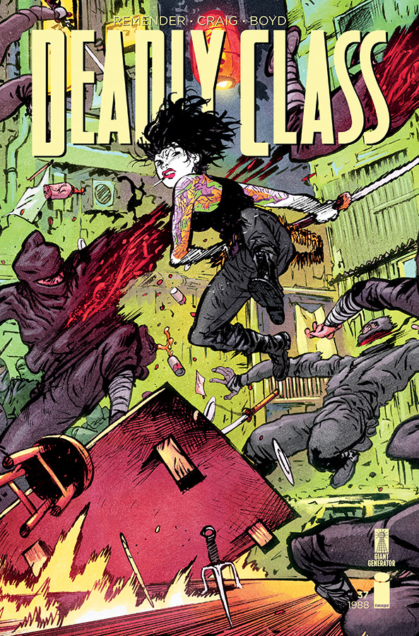 DEADLY CLASS #37 CVR B JOHNSON (MR)