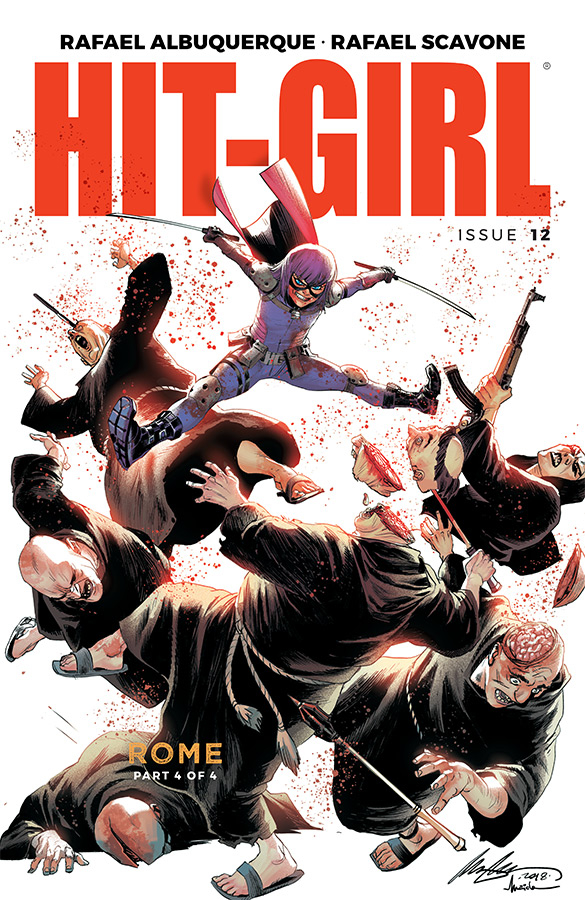 HIT-GIRL #12 CVR A ALBUQUERQUE (MR)