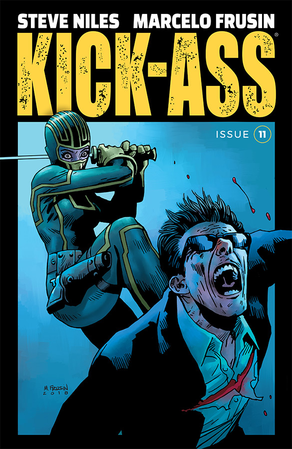 KICK-ASS #11 CVR A FRUSIN (MR)