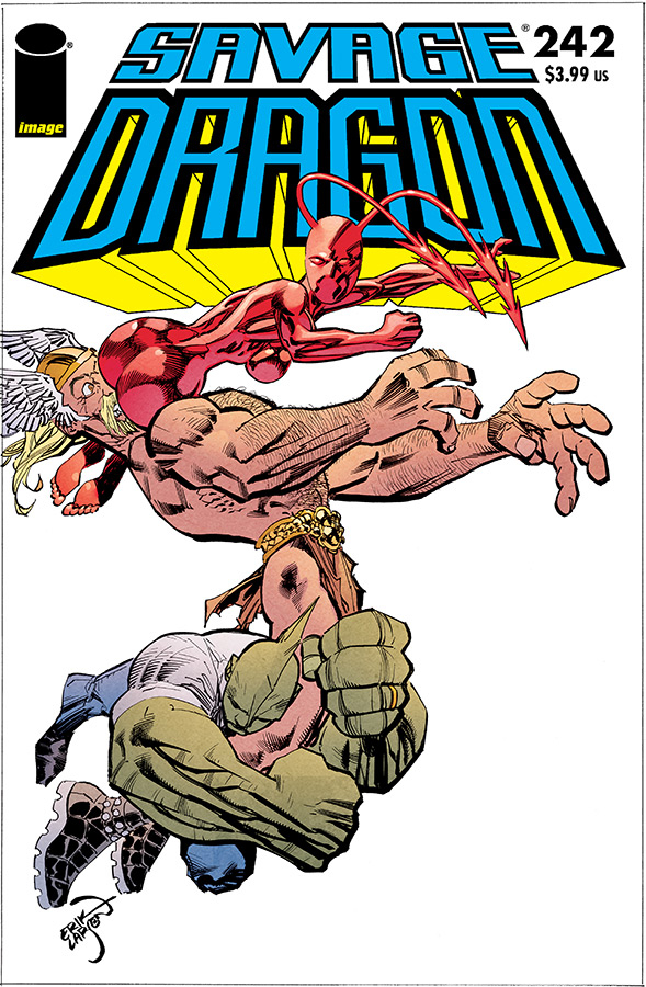 SAVAGE DRAGON #242 (MR)