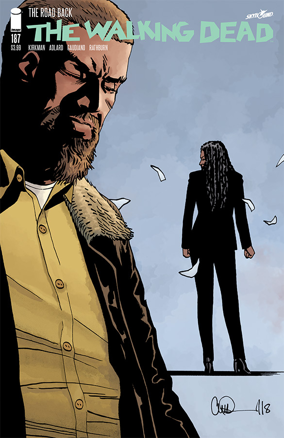 WALKING DEAD #187 (MR)