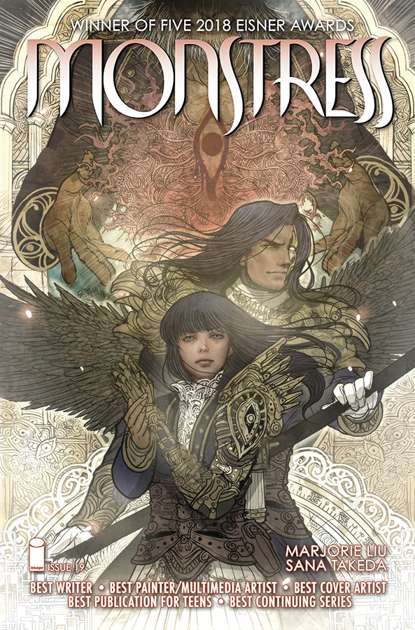 MONSTRESS #19 (MR)