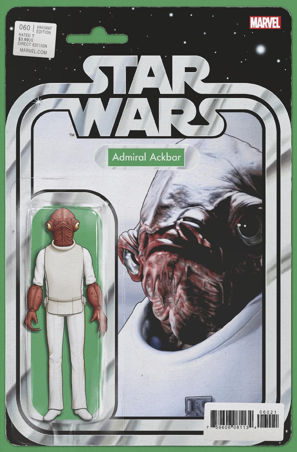 STAR WARS #60 CHRISTOPHER ACTION FIGURE VAR