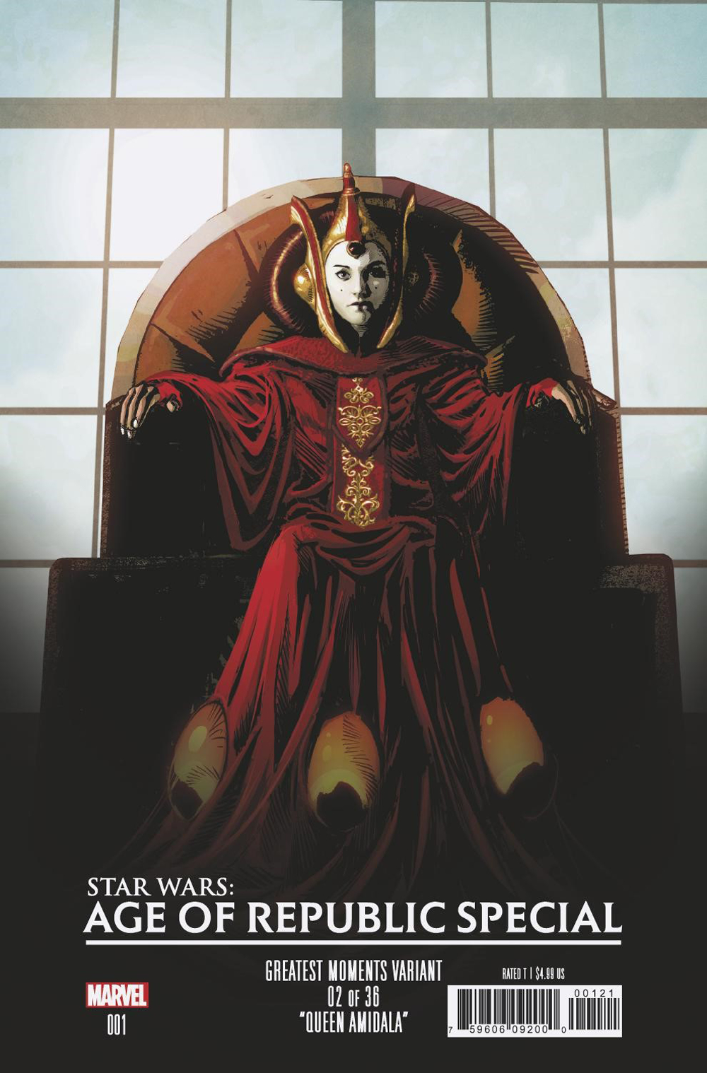 STAR WARS AOR SPECIAL #1 DEODATO GREATEST MOMENTS VAR