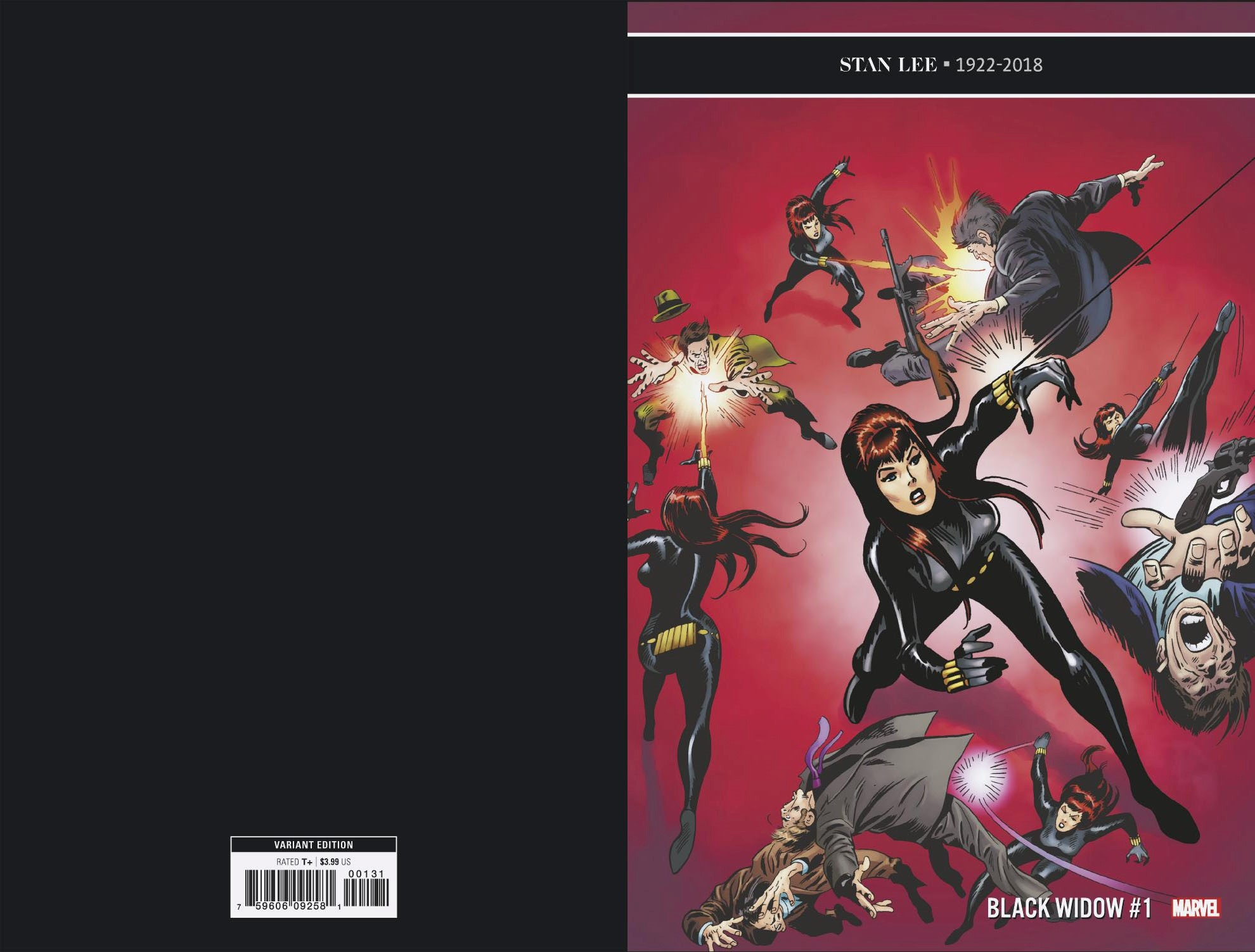 BLACK WIDOW #1 BUSCEMA REMASTERED VAR