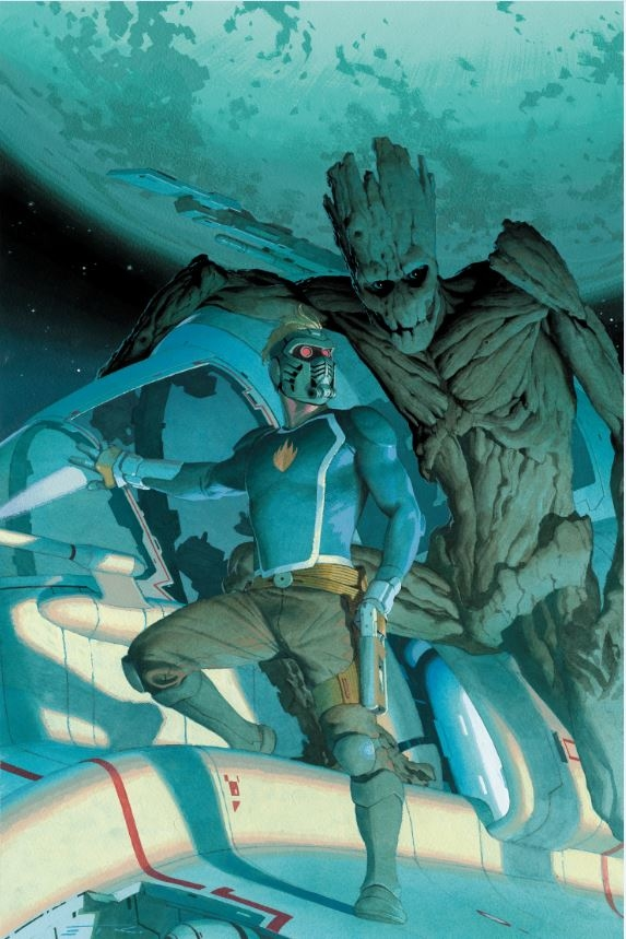 GUARDIANS OF THE GALAXY #1 RIBIC VAR