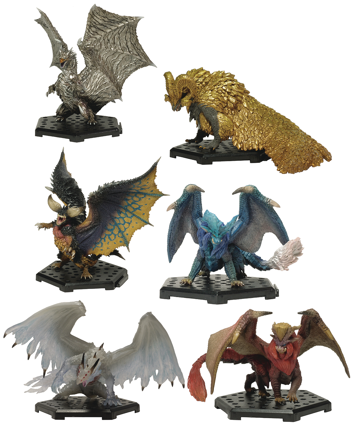 MONSTER HUNTER STANDARD MODEL PLUS 6PC BMB DIS VER 13