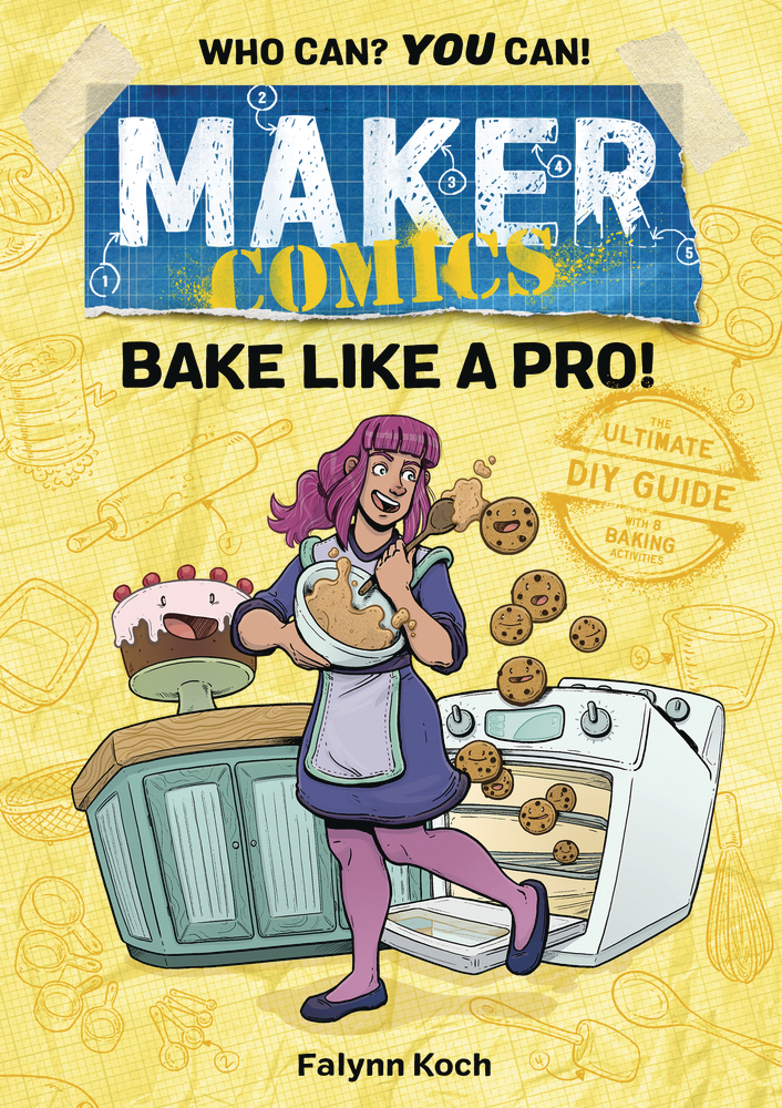 MAKER COMICS HC GN BAKE LIKE A PRO