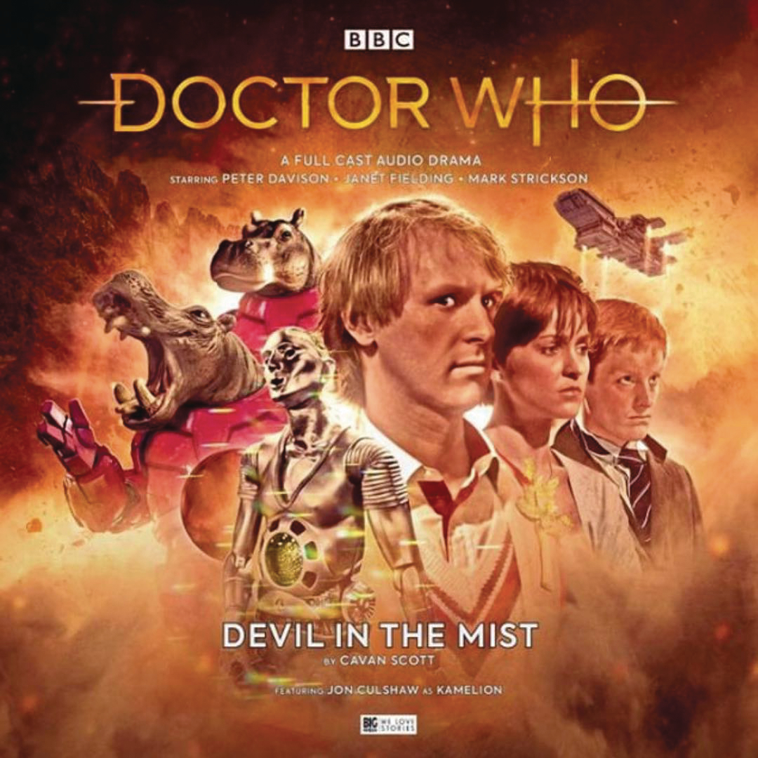 DOCTOR WHO 5TH DOCTOR DEVIL IN MIST AUDIO CD