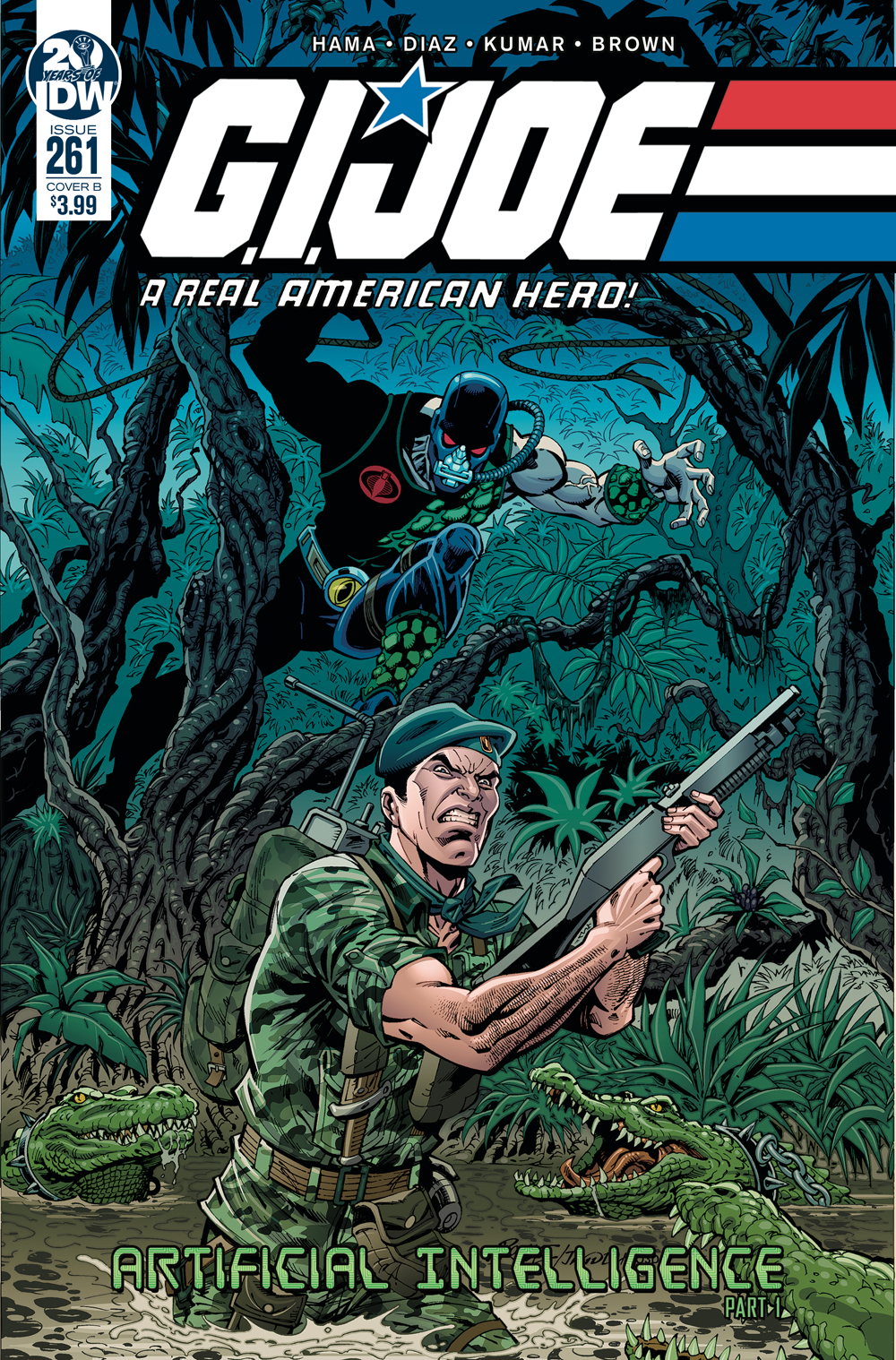 GI JOE A REAL AMERICAN HERO #261 CVR B ROYLE