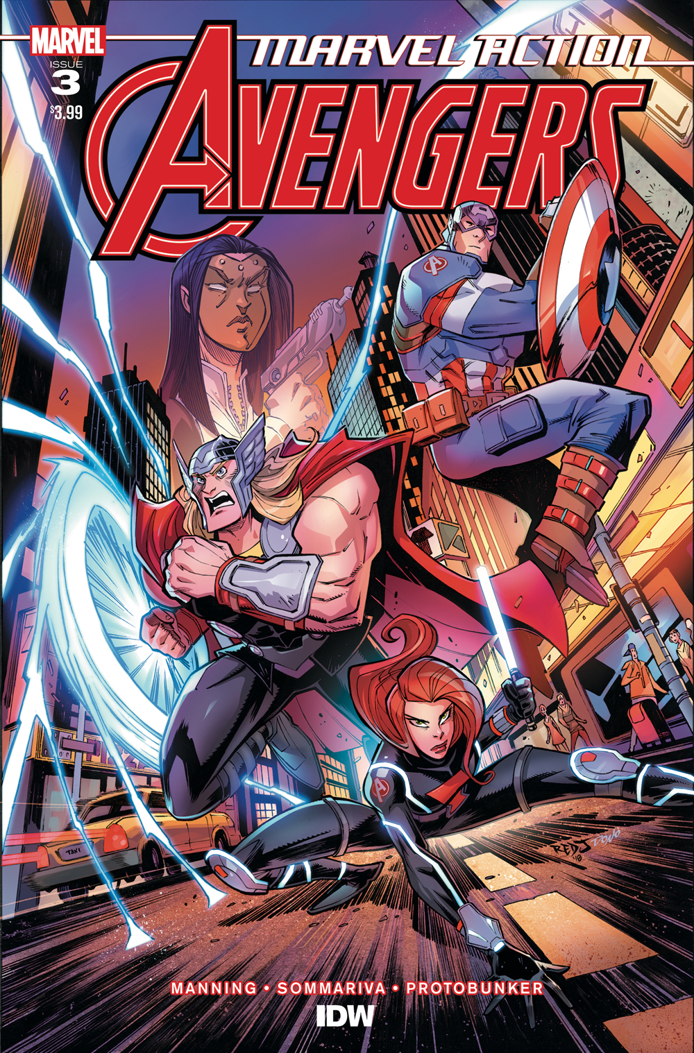 MARVEL ACTION AVENGERS #3 SOMMARIVA
