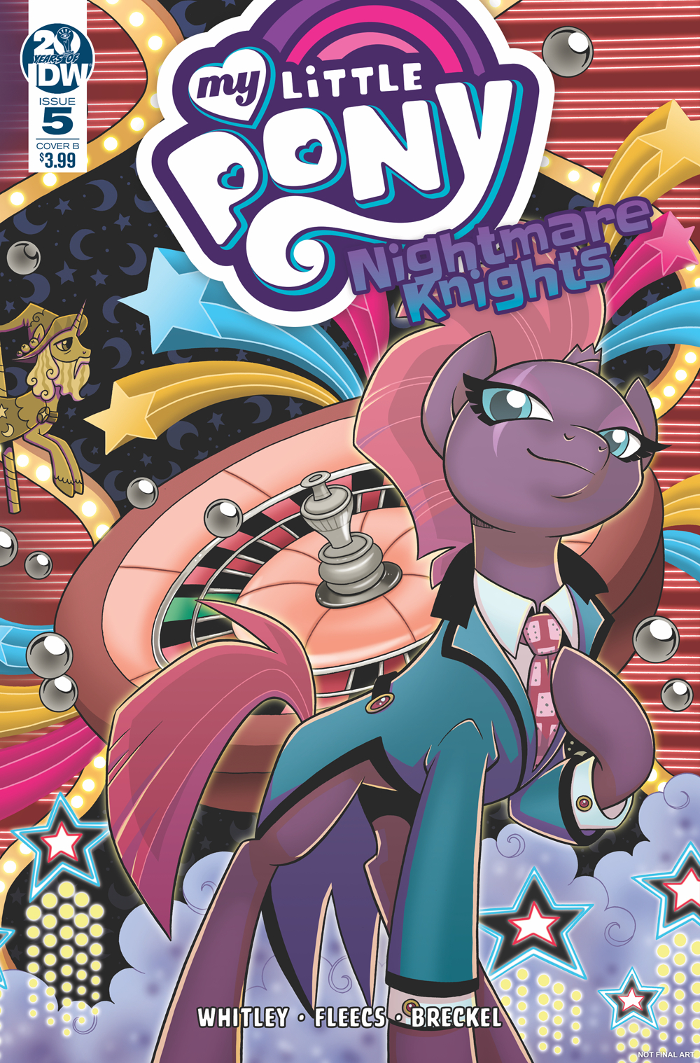 MY LITTLE PONY NIGHTMARE KNIGHTS #5 CVR B HICKEY