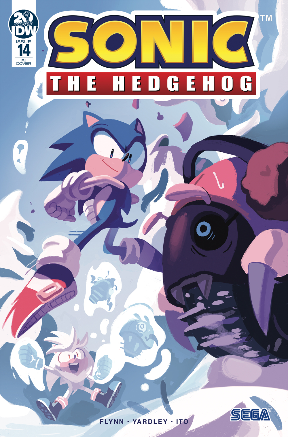 SONIC THE HEDGEHOG #14 10 COPY INCV FOURDRAINE