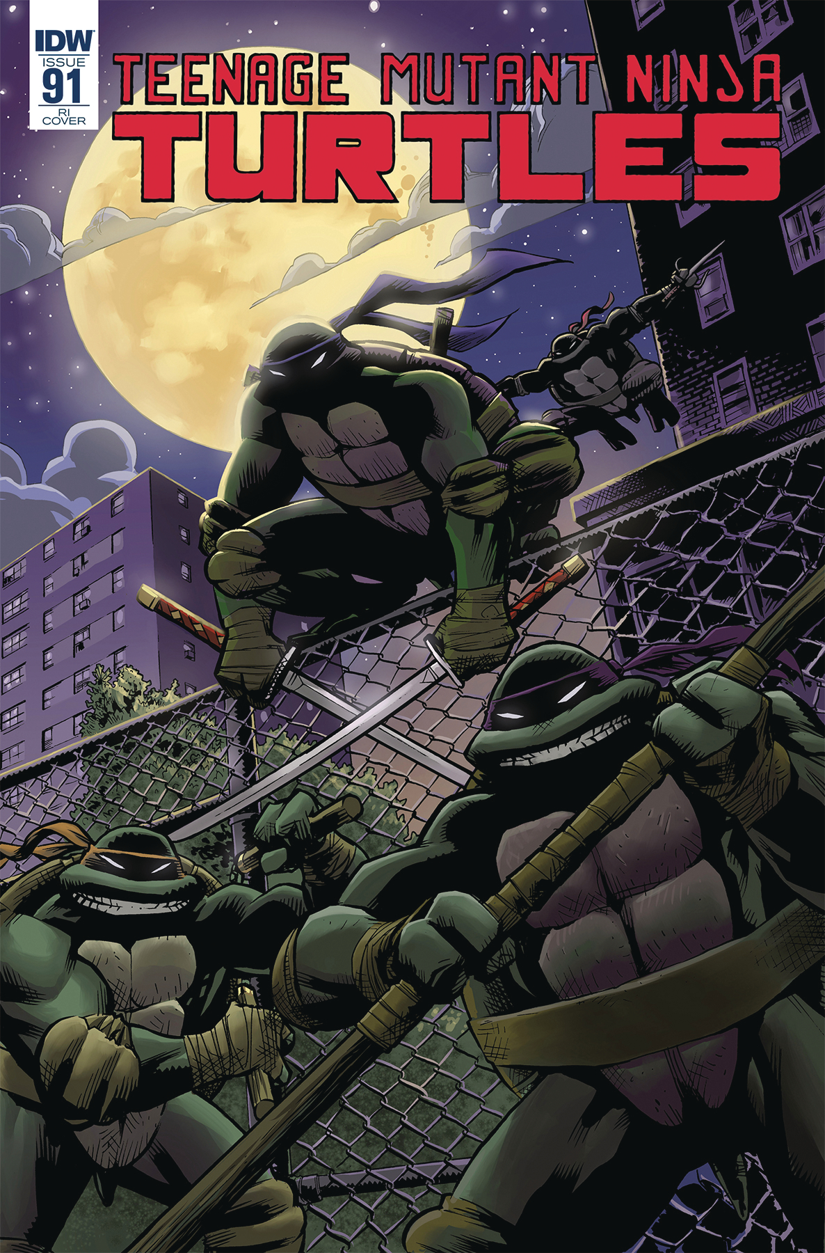 TMNT ONGOING #91 10 COPY INCV MOLINE