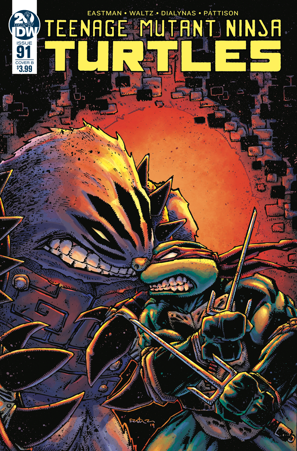 TMNT ONGOING #91 CVR B EASTMAN