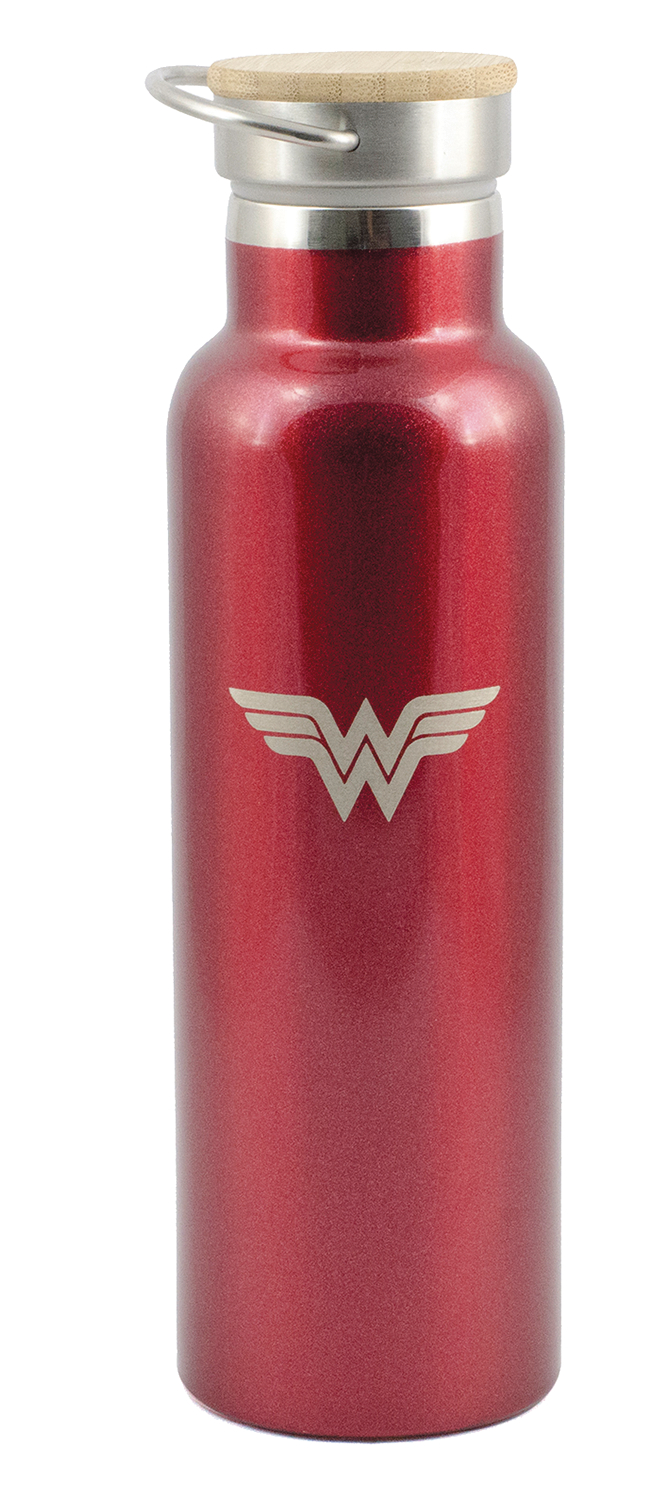 DC WONDER WOMAN STAINLESS STEEL BOTTLE
