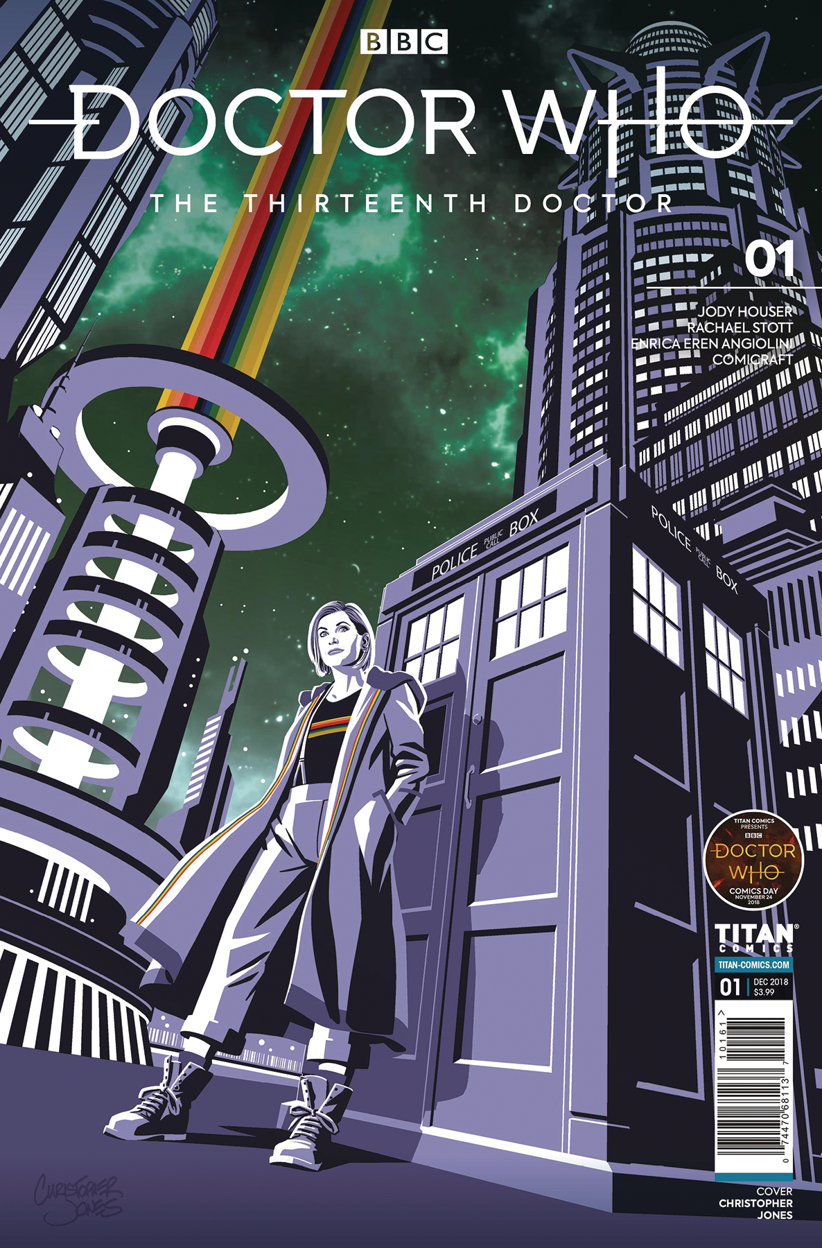 DOCTOR WHO 13TH #1 DOCTOR WHO COMICS DAY EXC CVR