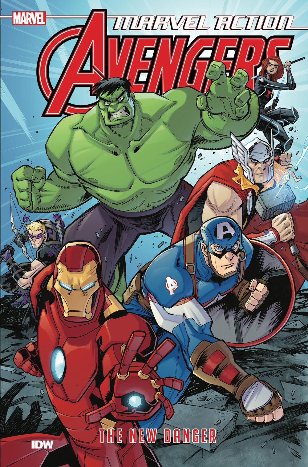 MARVEL ACTION AVENGERS TP BOOK 01 NEW DANGER [#1-3]