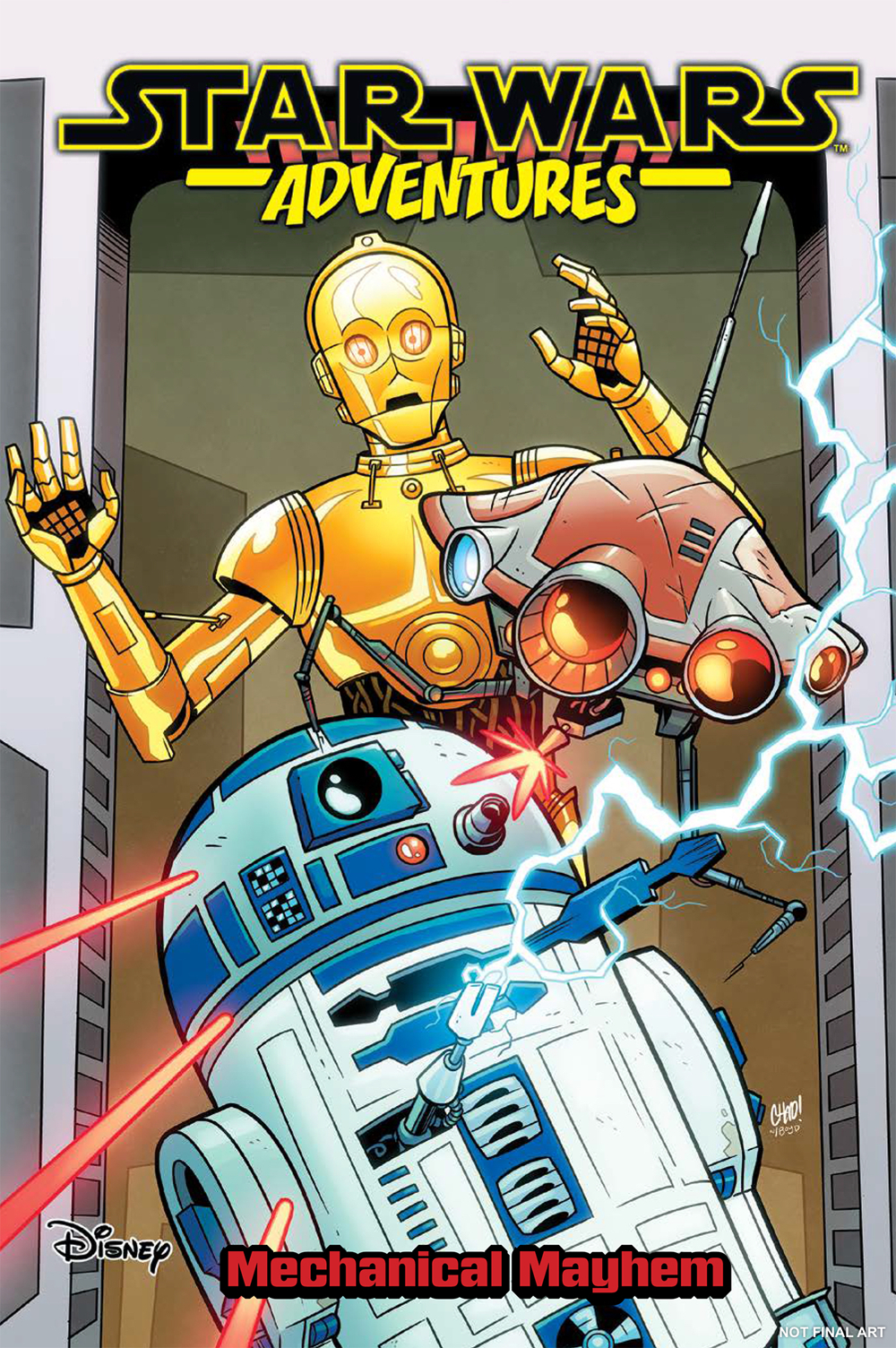 STAR WARS ADVENTURES TP VOL 05 MECHANICAL MAYHEM
