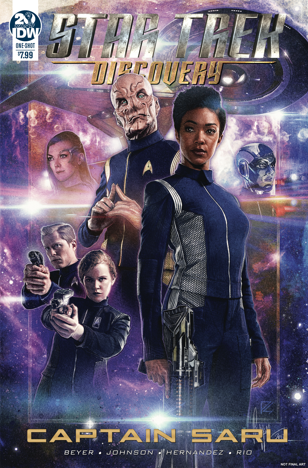 STAR TREK DISCOVERY CAPTAIN SARU