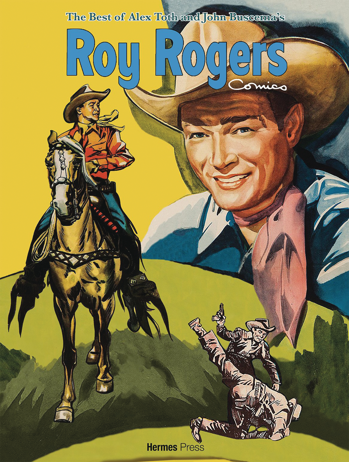BEST OF ALEX TOTH & JOHN BUSCEMA ROY ROGERS COMICS HC