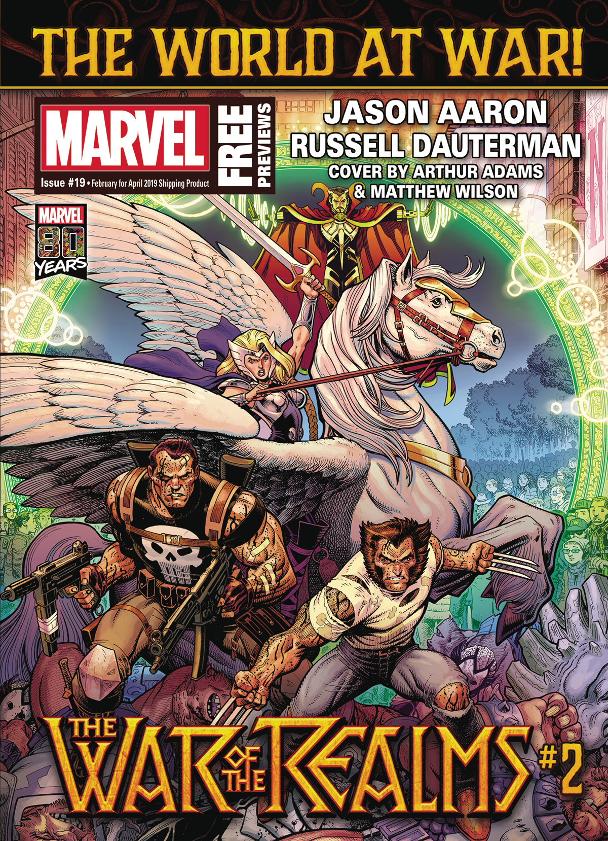 MARVEL PREVIEWS VOL 04 #19 FEBRUARY 2019 EXTRAS
