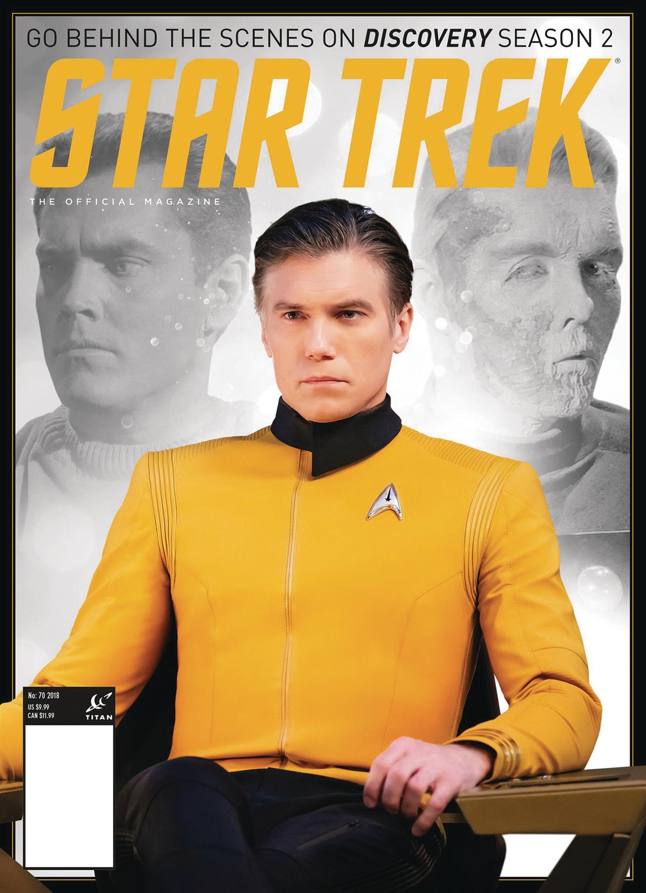 STAR TREK MAGAZINE #70 PX