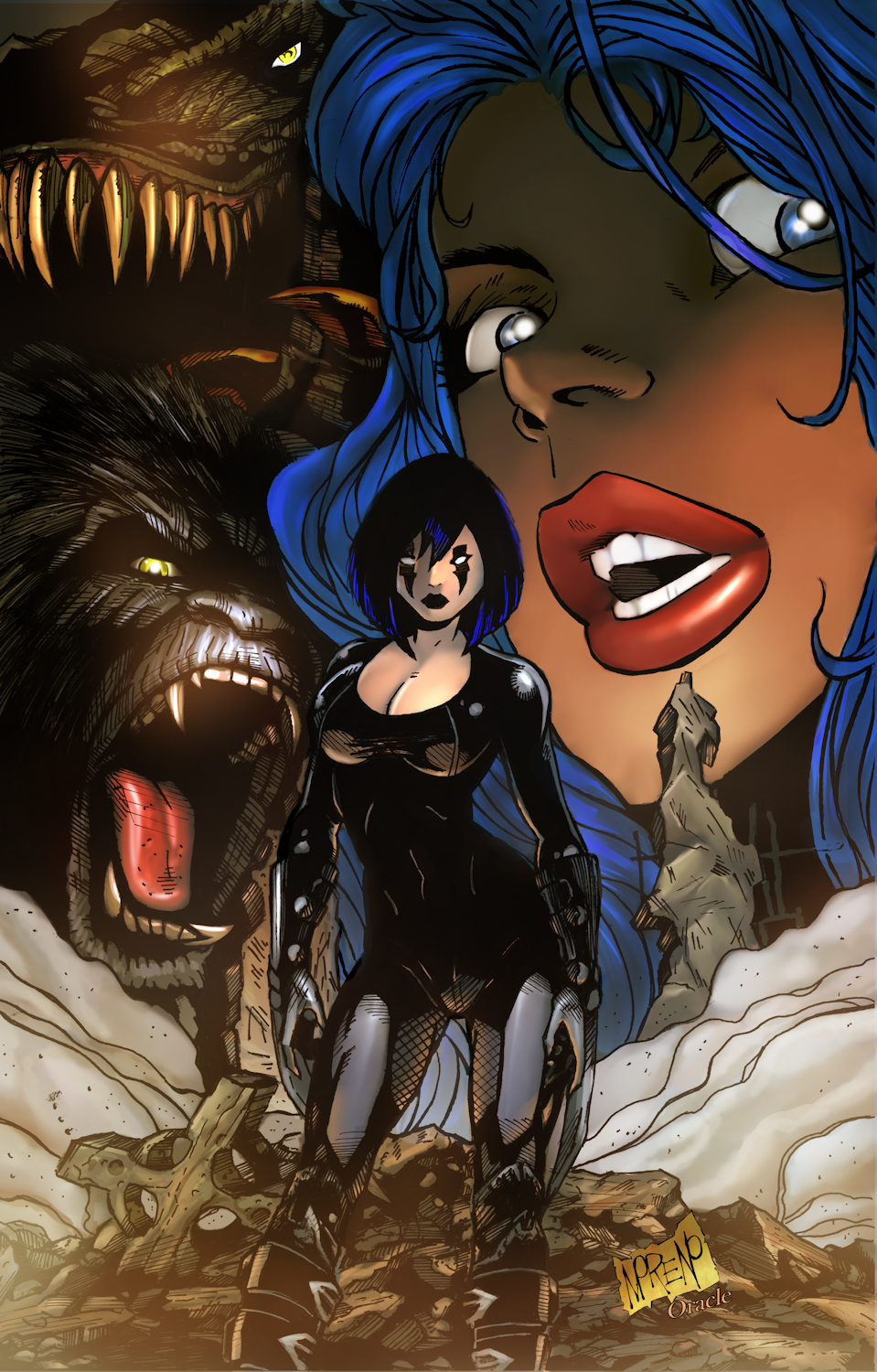 CAVEWOMAN RAZORS RUN #1 (OF 1) CVR G MORENO  (MR)